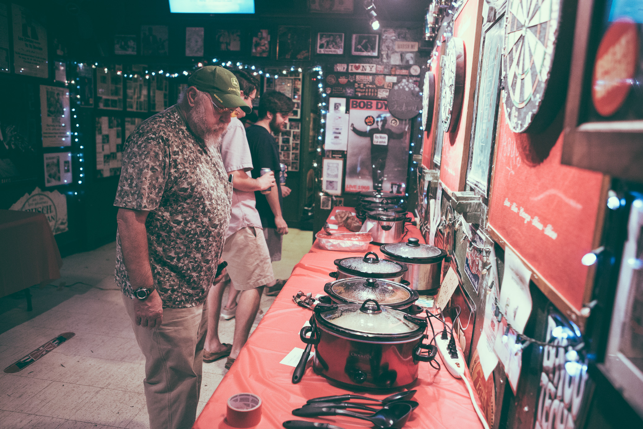 A scene from the Asses of Fire Chili Cook-Off at Egan's Bar in Tuscaloosa, Alabama on February 17th, 2018. (Photo by David A. Smith/DSmithScenes)