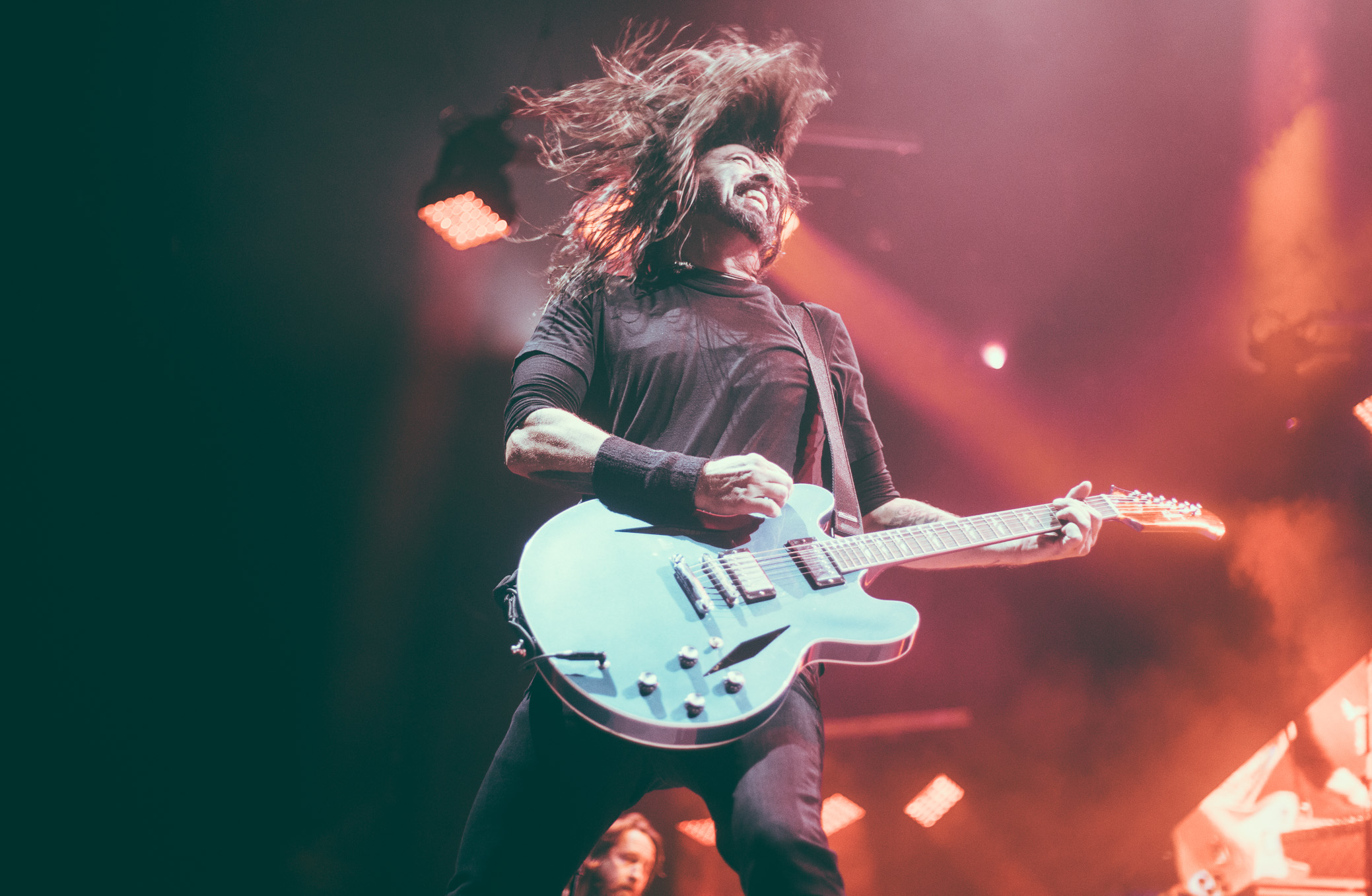Foo Fighters Dave Grohl Concert Photography
