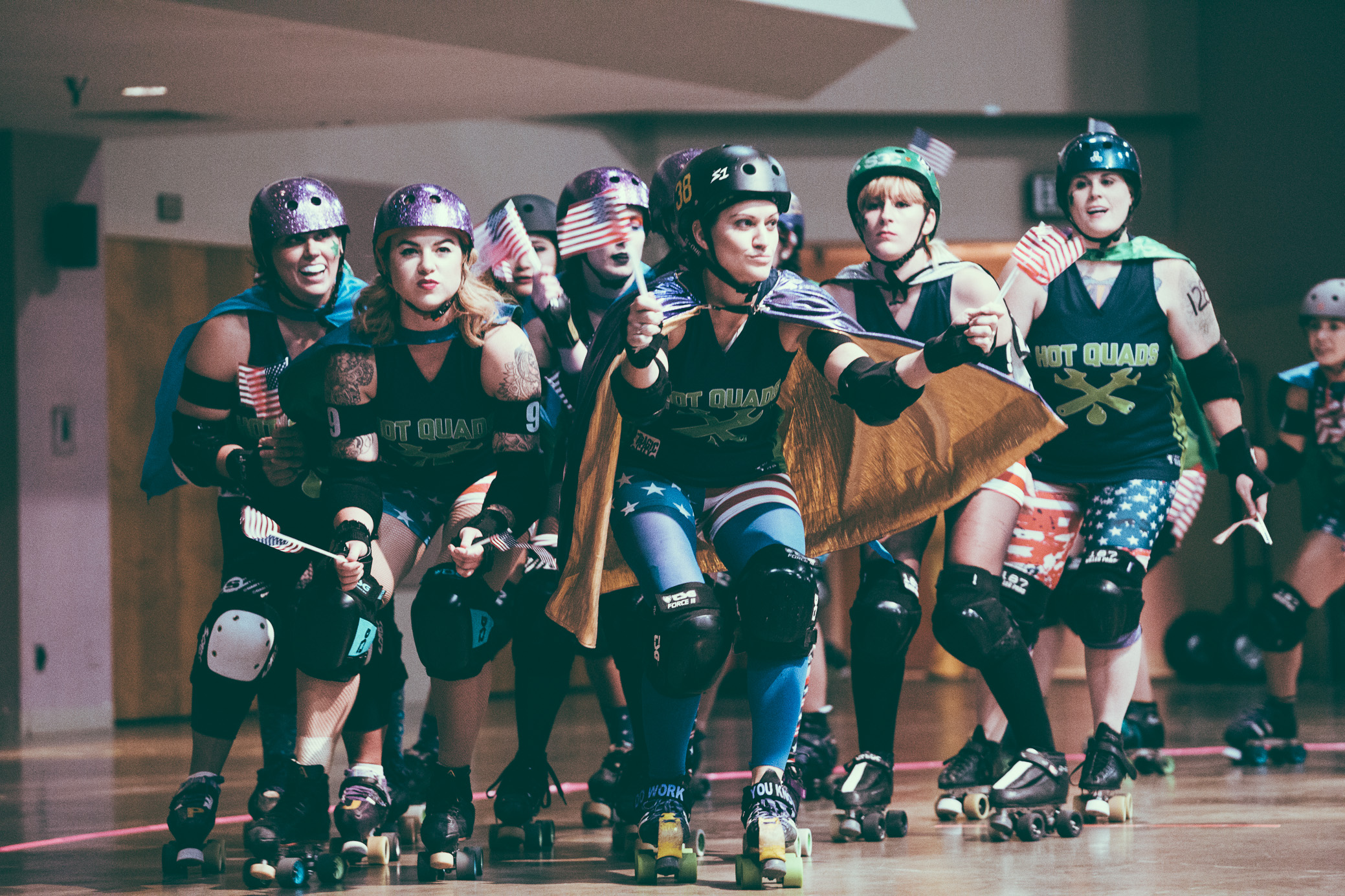 Tragic City Rollers: Hot Quads vs. Rollsheviks