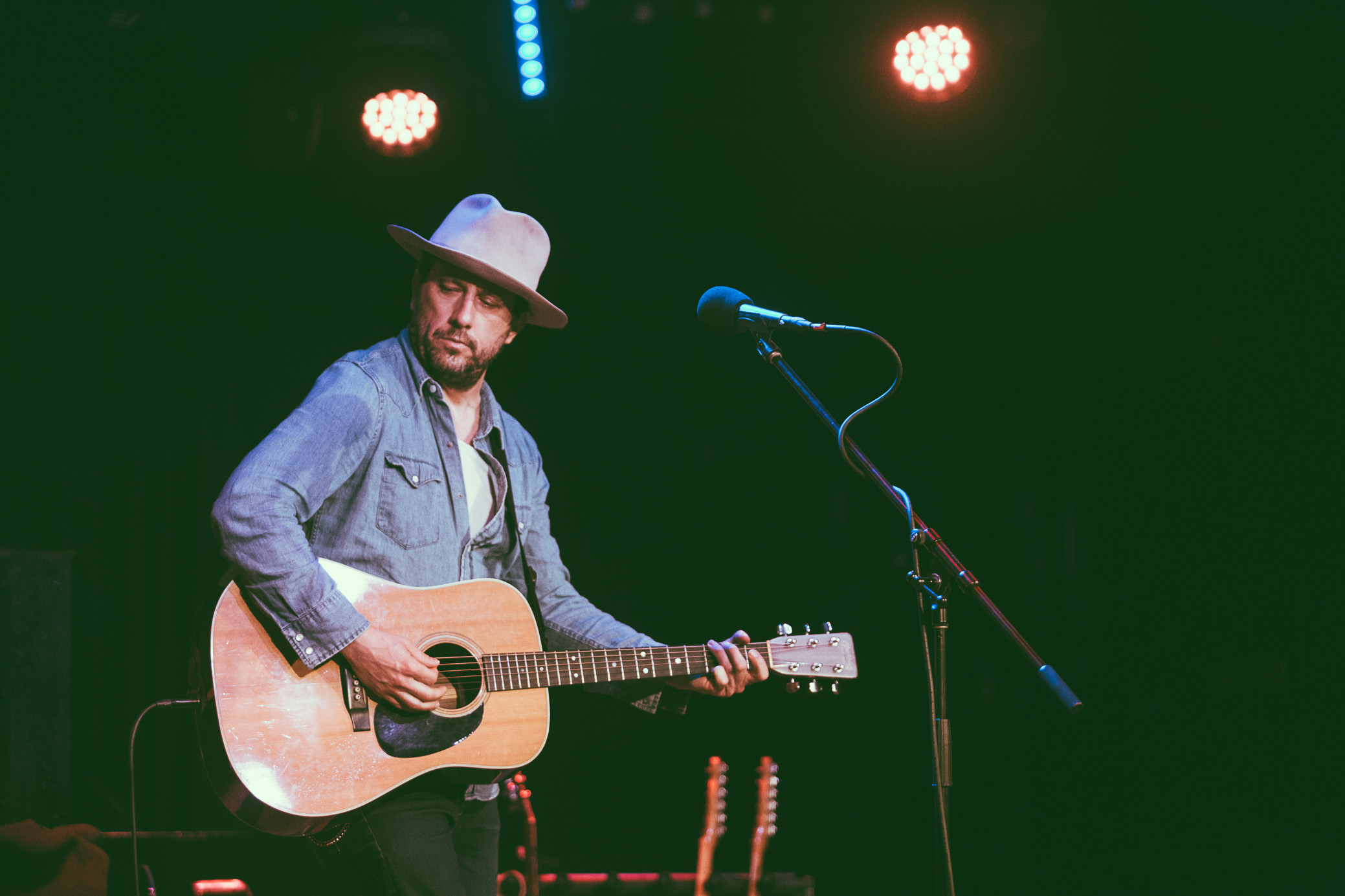 Will Hoge performs in concert at Saturn Birmingham in Birmingham, Alabama on March 29th, 2018. (Photo by David A. Smith/DSmithScenes)