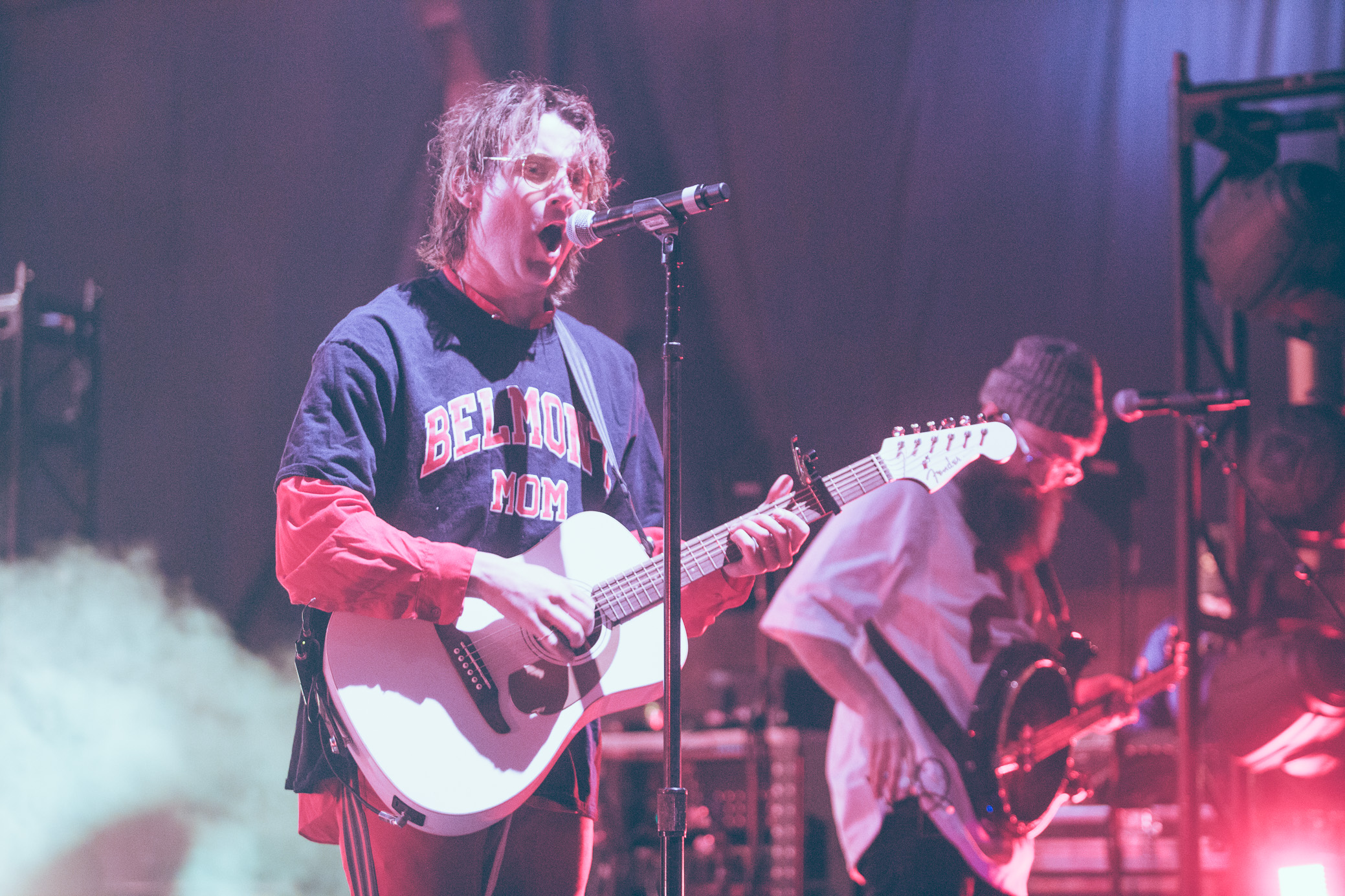 Judah & the Lion performs in concert at Sloss Furnaces in Birmingham, Alabama on April 19th, 2018. (Photo by David A. Smith/DSmithScenes)
