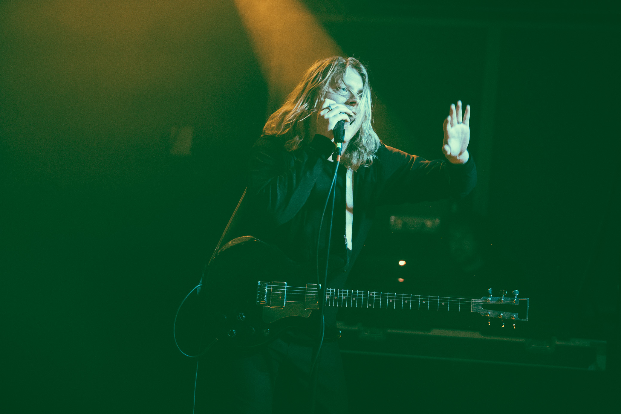 Ty Segall performs in concert at Saturn Birmingham in Birmingham, Alabama on April 20th, 2018. (Photo by David A. Smith/DSmithScenes)