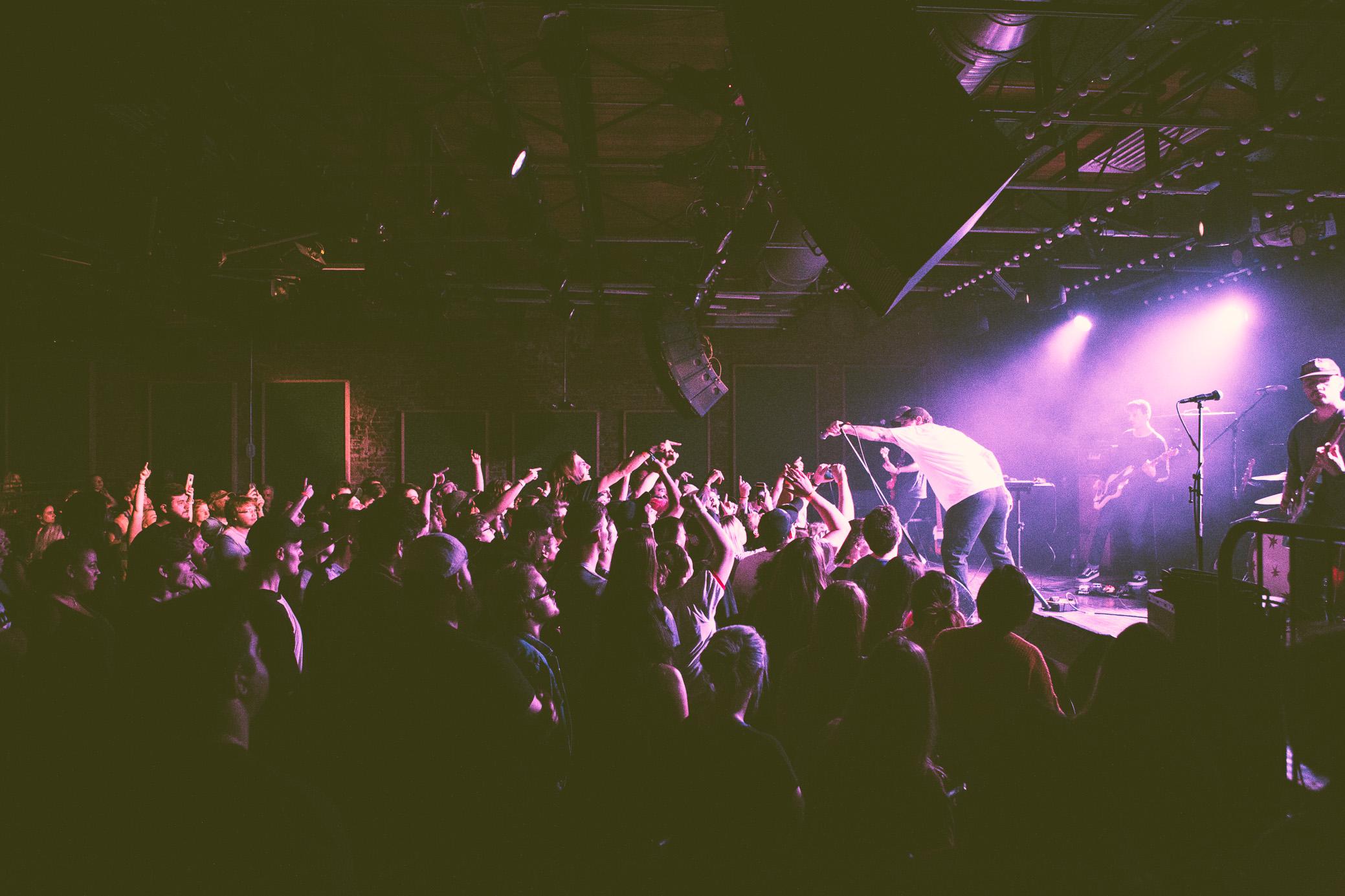 Matt Kerekes of Citizen performs in concert at Saturn Birmingham in Birmingham, Alabama on May 7th, 2018. (Photo by David A. Smith/DSmithScenes)