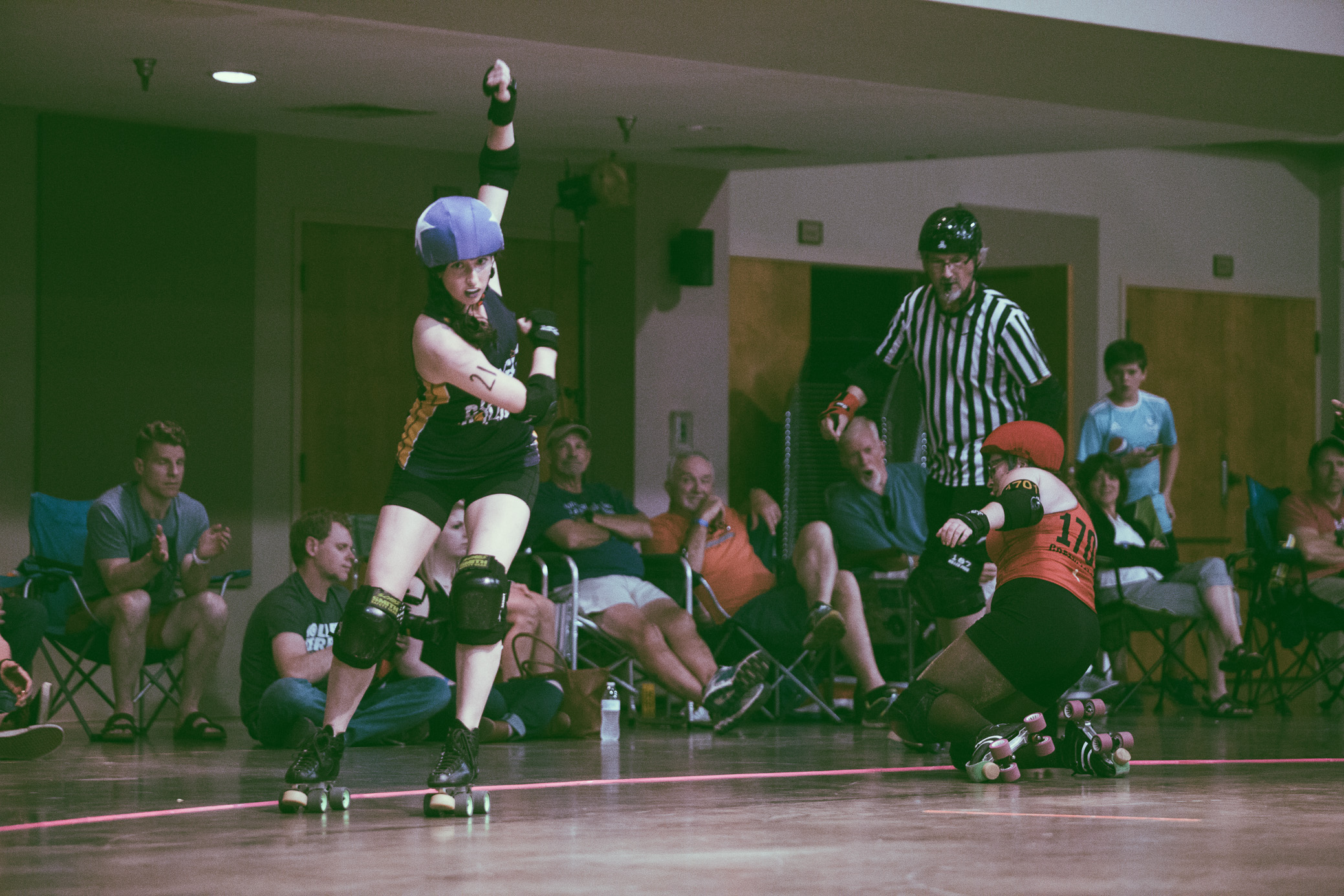 Tragic City Rollers vs. Druid City Dames