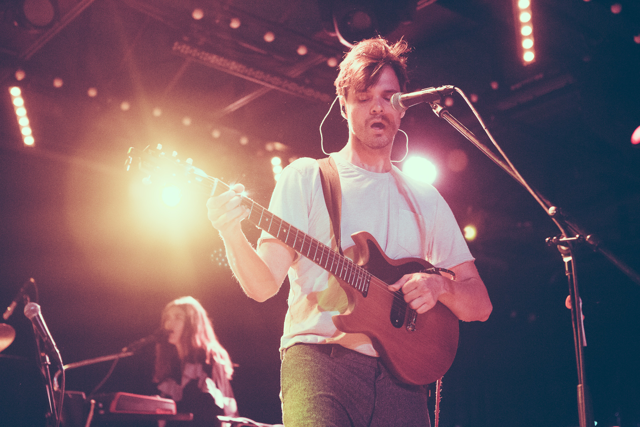 David Longstreth of Dirty Projectors performs in concert at Saturn Birmingham in Birmingham, Alabama on May 18th, 2018. (Photo by David A. Smith/DSmithScenes)