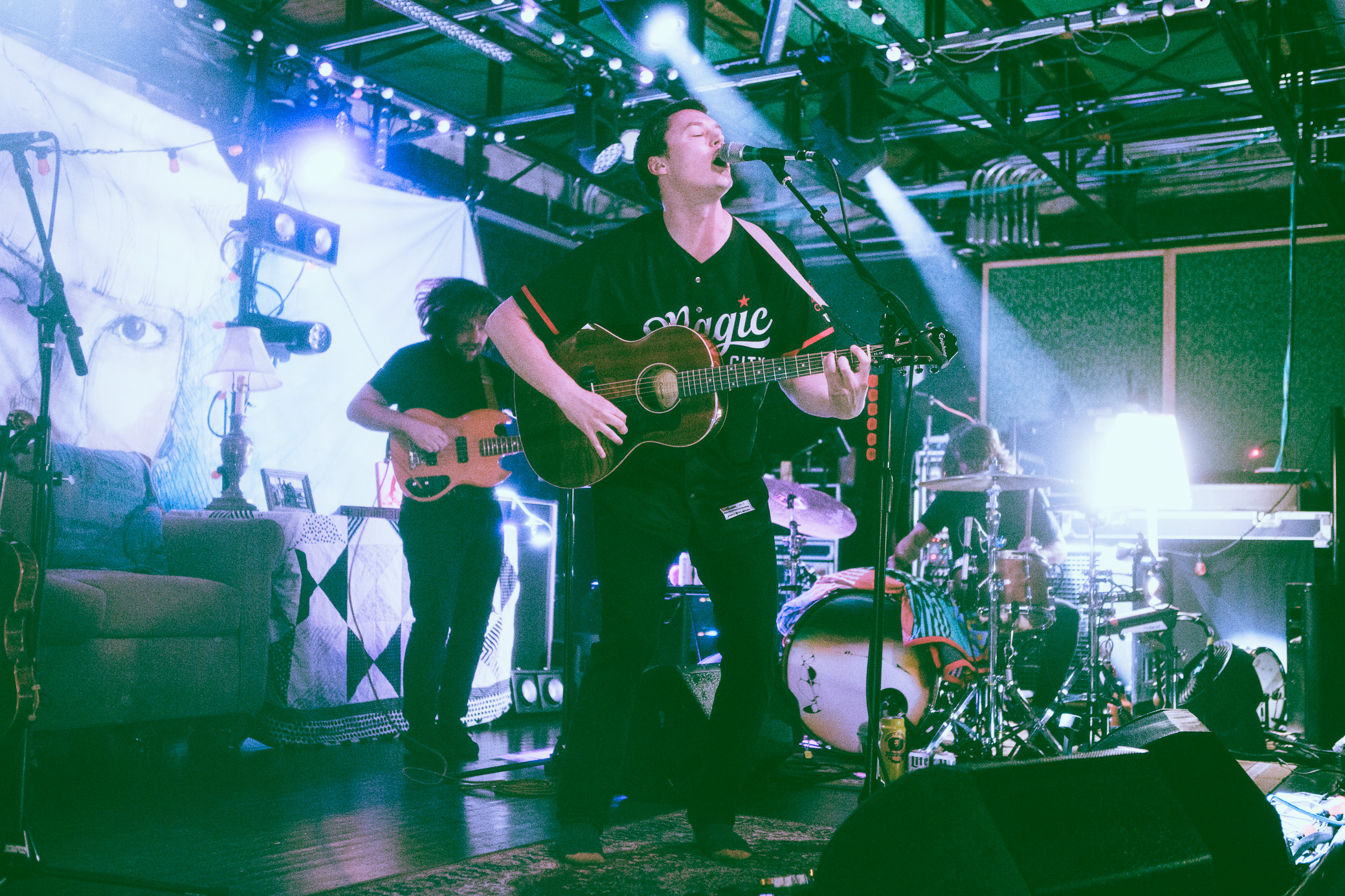 The Front Bottoms perform in concert at Saturn Birmingham in Birmingham, Alabama on May 30th, 2018. (Photo by David A. Smith/DSmithScenes)
