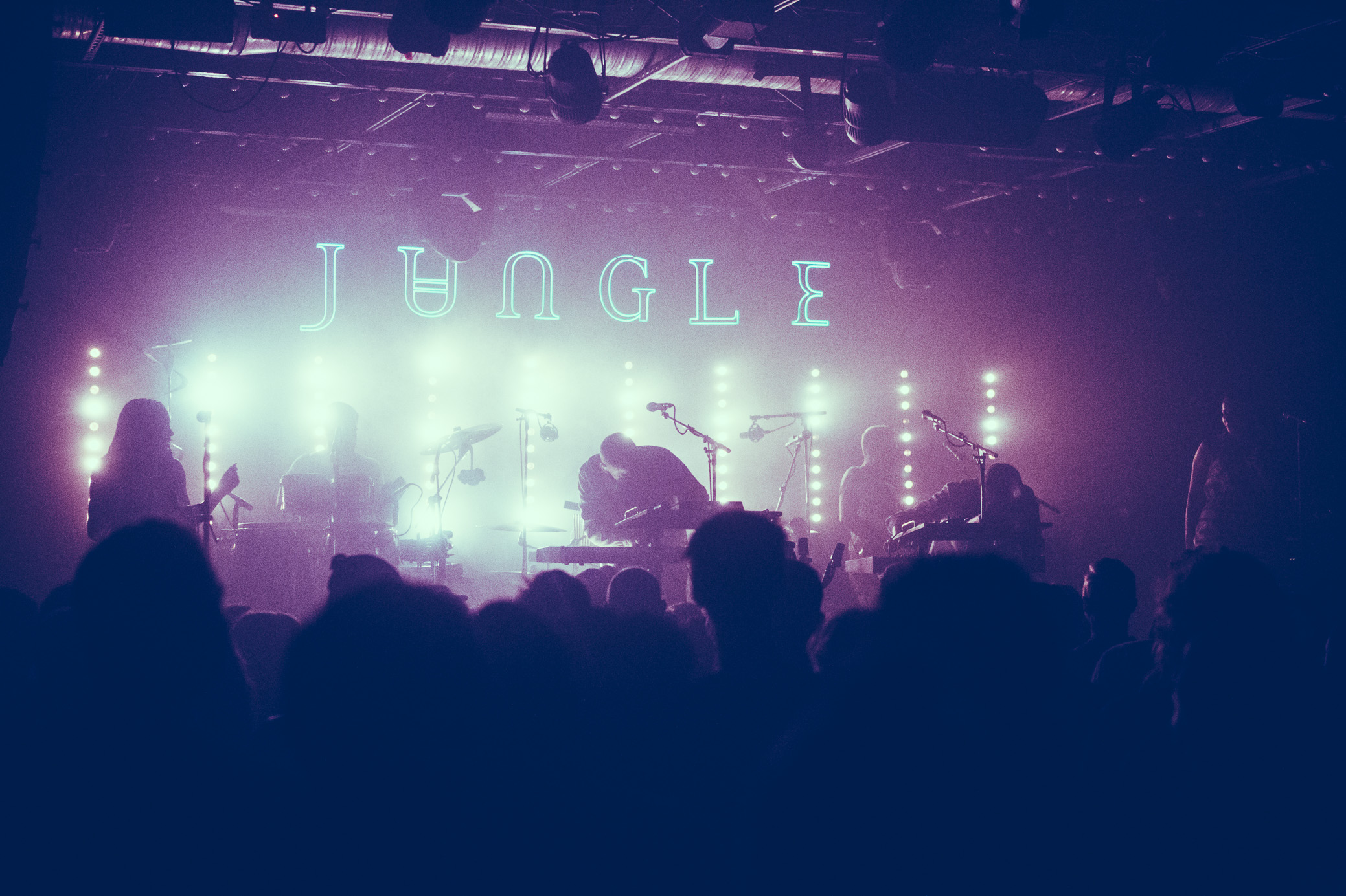 Jungle performs in concert at Saturn Birmingham in Birmingham, Alabama on June 9th, 2018. (Photo by David A. Smith/DSmithScenes)