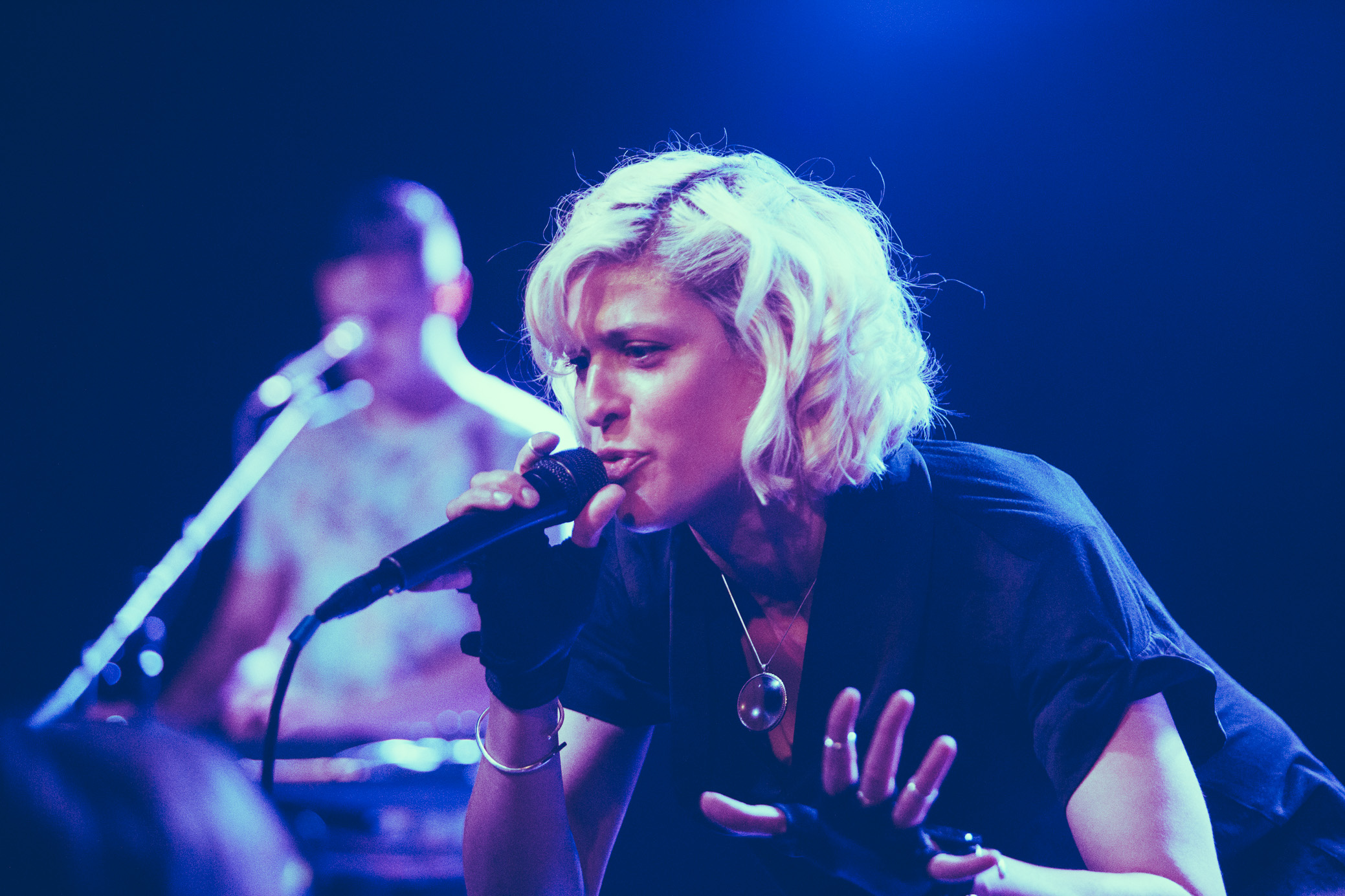 Dessa performs in concert at Saturn Birmingham in Birmingham, Alabama on June 20th, 2018. (Photo by David A. Smith/DSmithScenes)