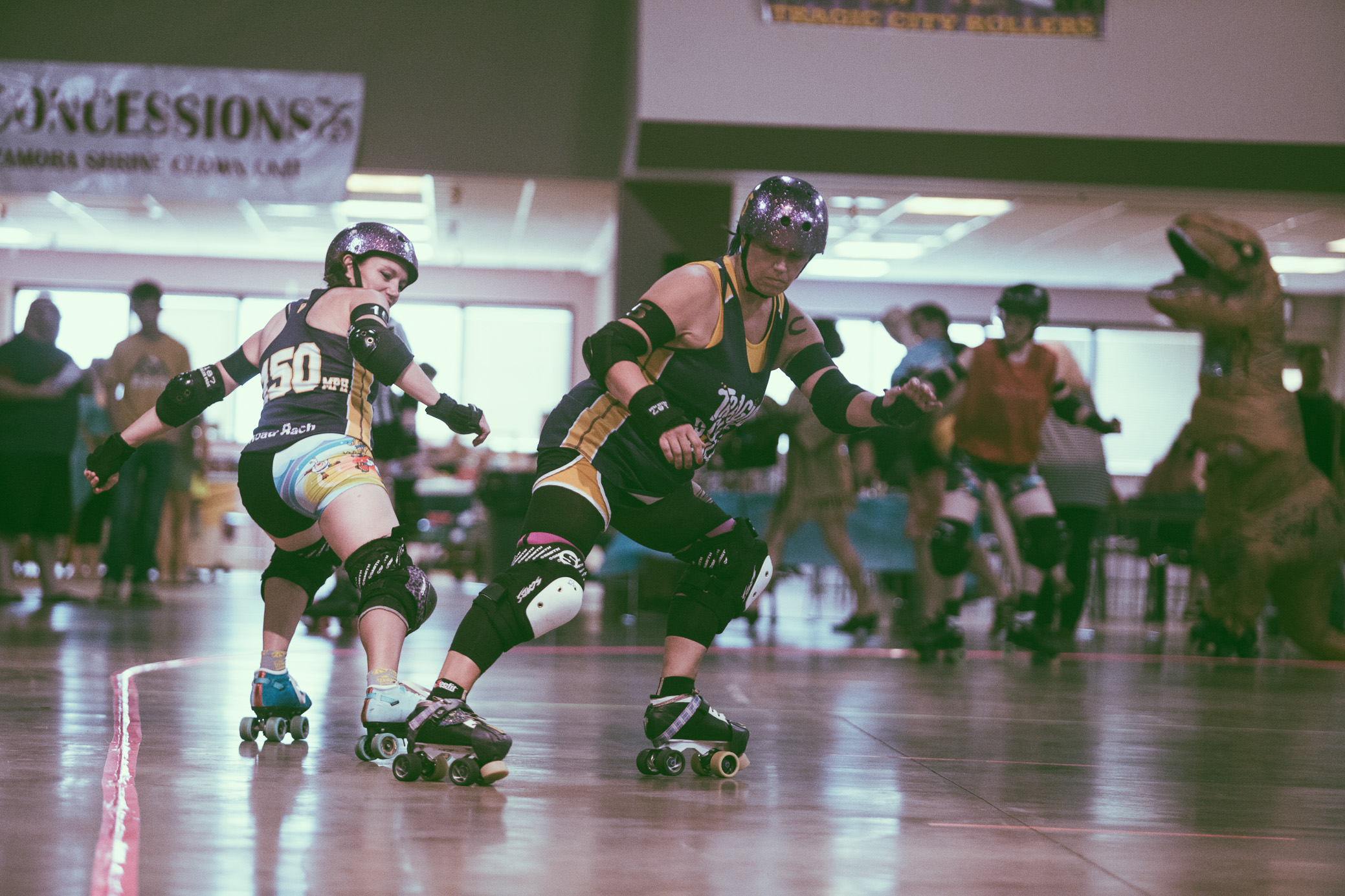 Tragic City Rollers vs. Muscogee Roller Girls