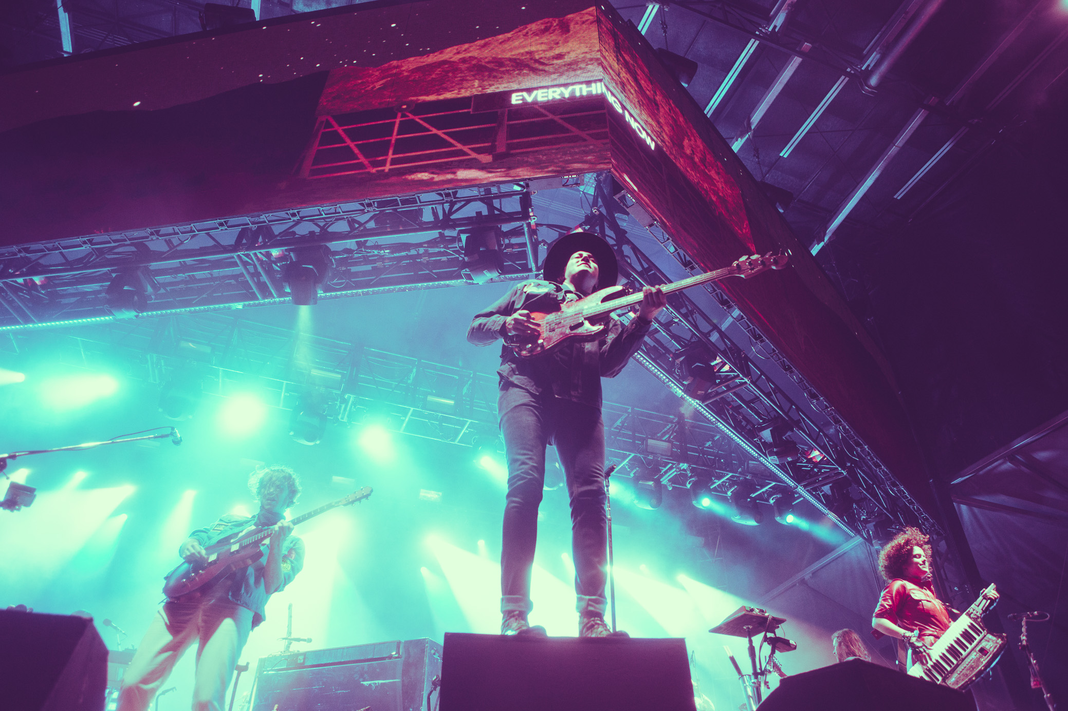 Arcade Fire performs in concert at the Sloss Music and Arts Festival in Birmingham, Alabama on July 14th, 2018. (Photo by David A. Smith/DSmithScenes)Arcade Fire performs in concert at the Sloss Music and Arts Festival in Birmingham, Alabama on July 14th, 2018. (Photo by David A. Smith/DSmithScenes)