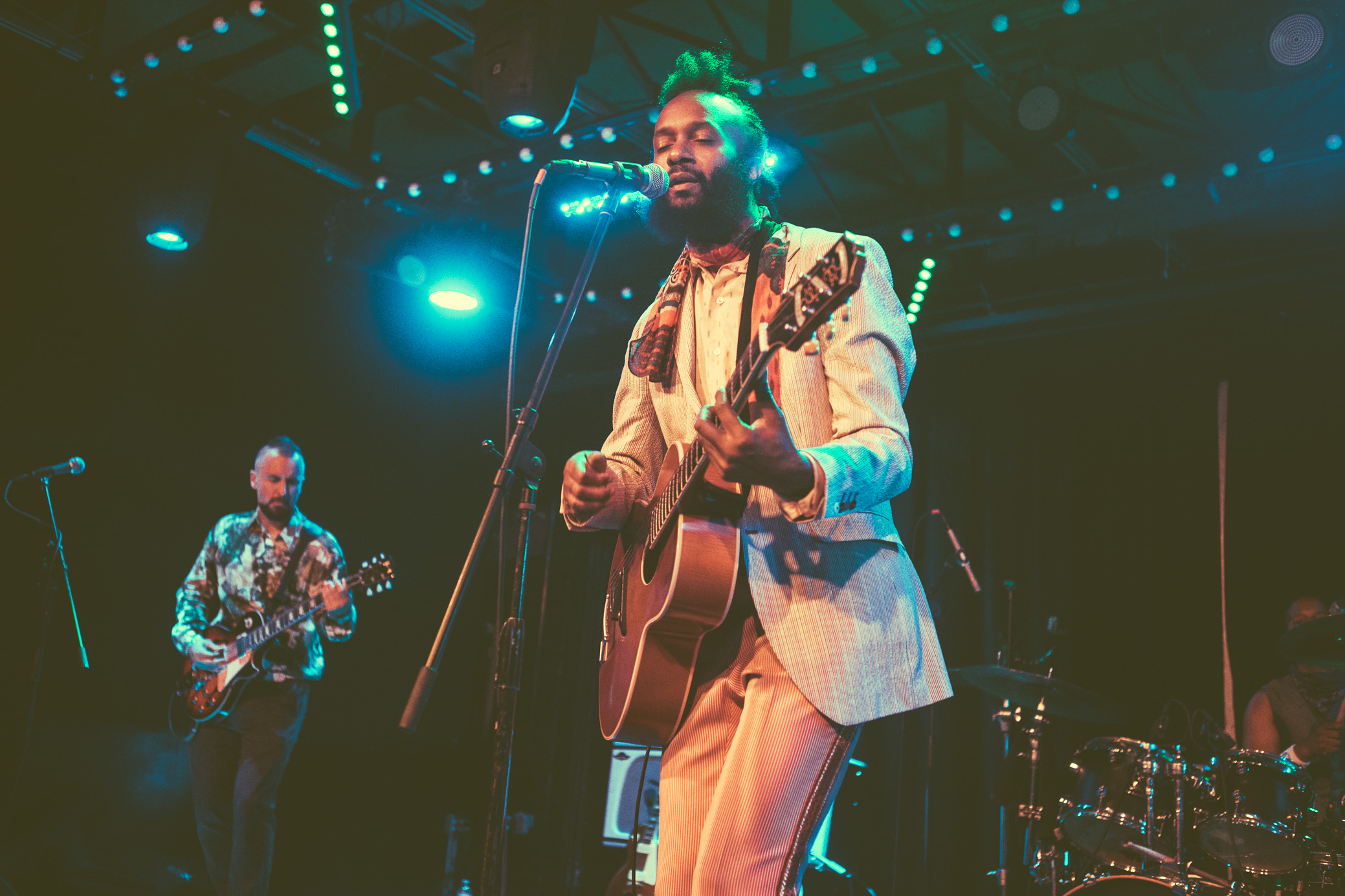 Fantastic Negrito performs in concert at Saturn Birmingham in Birmingham, Alabama on July 18th, 2018. (Photo by David A. Smith/DSmithScenes)