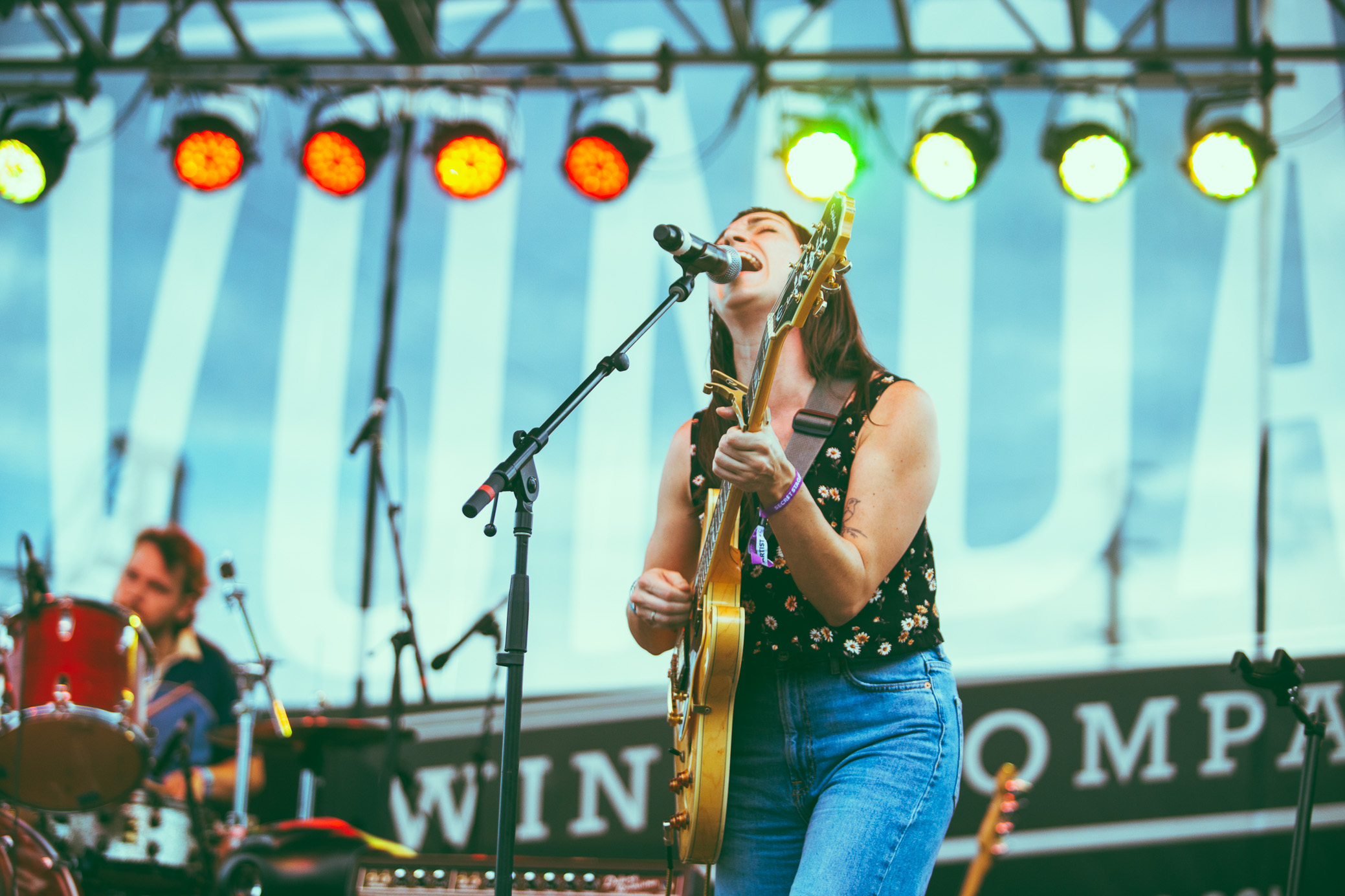 Julie Odell performs in concert at the Secret Stages Music Discovery Festival in Birmingham, Alabama on August 4th, 2018. (Photo by David A. Smith/DSmithScenes)
