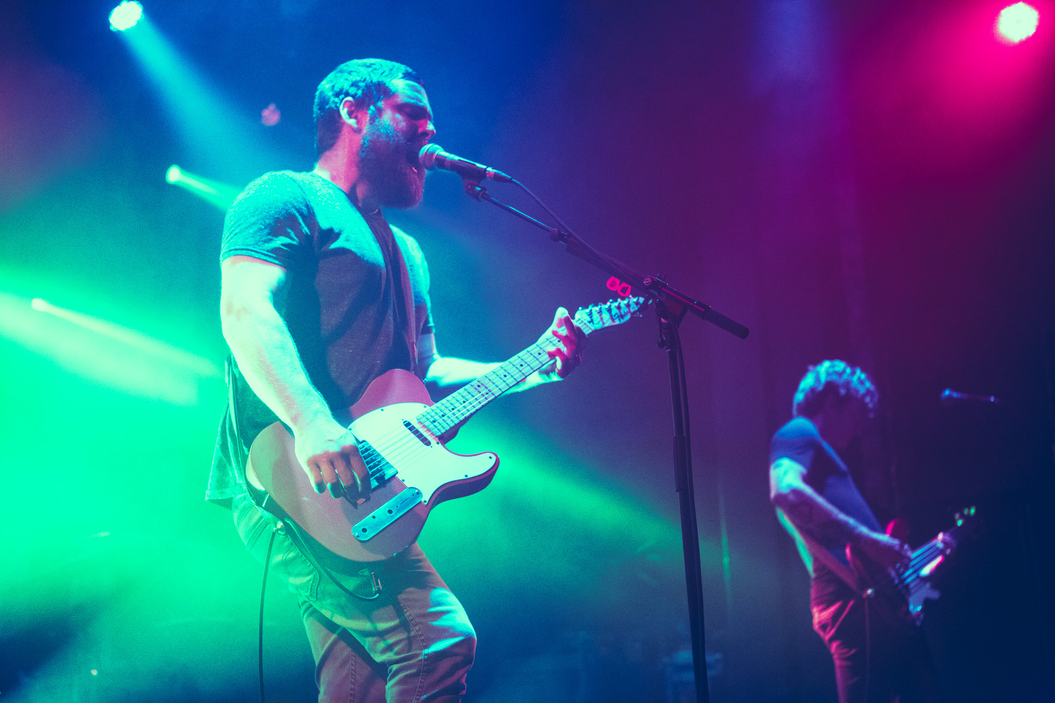 Manchester Orchestra performs in concert at Iron City in Birmingham, Alabama on August 10th, 2018. (Photo by David A. Smith/DSmithScenes)