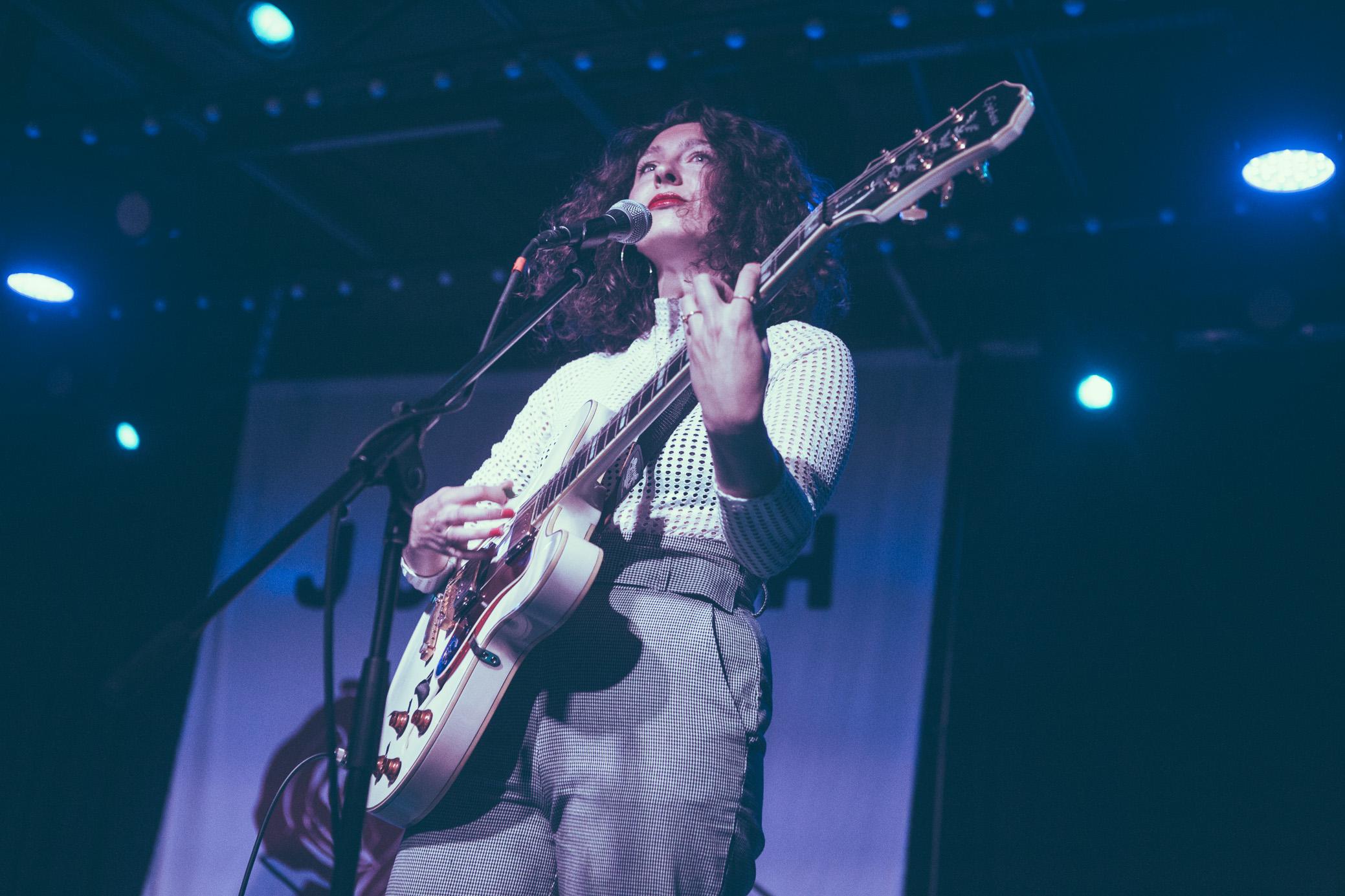 Natalie Closner of Joseph performs in concert at Saturn Birmingham in Birmingham, Alabama on September 6th, 2018. (Photo by David A. Smith/DSmithScenes)