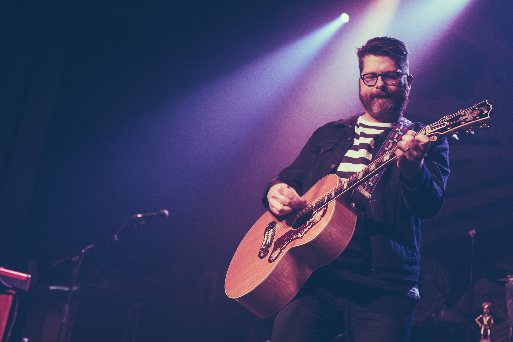 Colin Meloy of The Decemberists performs at Iron City in Birmingham, Alabama on September 21st, 2018. (Photo by David A. Smith/DSmithScenes)