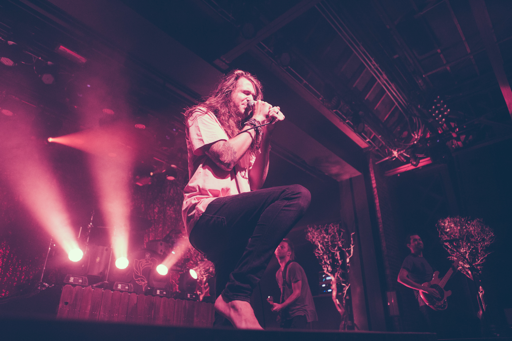 Mayday Parade performs in concert at Iron City in Birmingham, Alabama on October 4th, 2018. (Photo by David A. Smith/DSmithScenes)