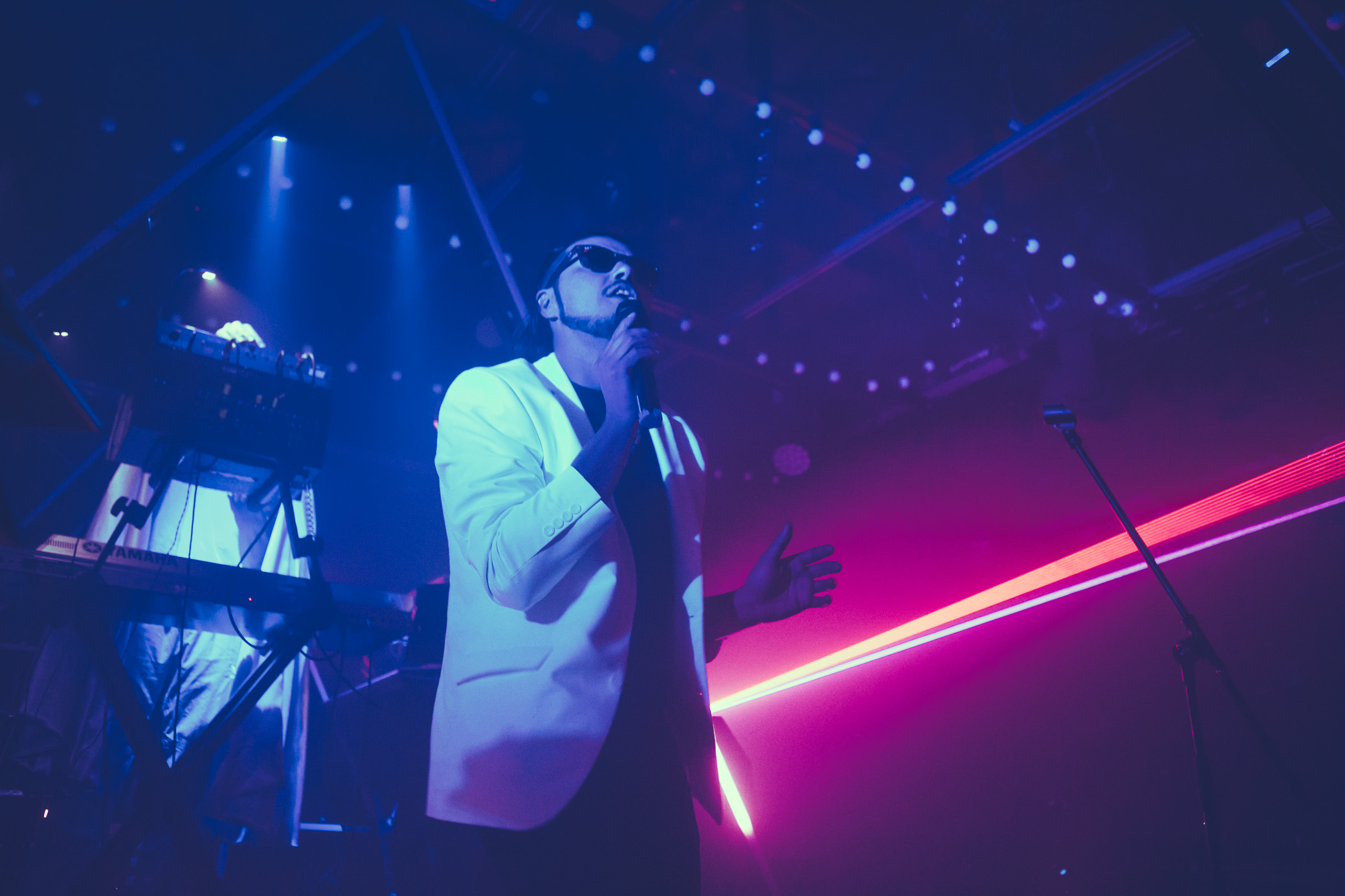 Ghostland Observatory performs in concert at Saturn Birmingham in Birmingham, Alabama on October 29th, 2018. (Photo by David A. Smith / DSmithScenes)