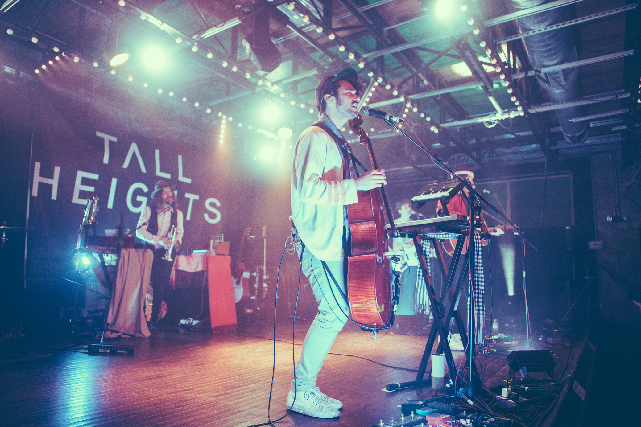Tall Heights perform in concert at Saturn Birmingham in Birmingham, Alabama on November 13th, 2018. (Photo by David A. Smith / DSmithScenes)
