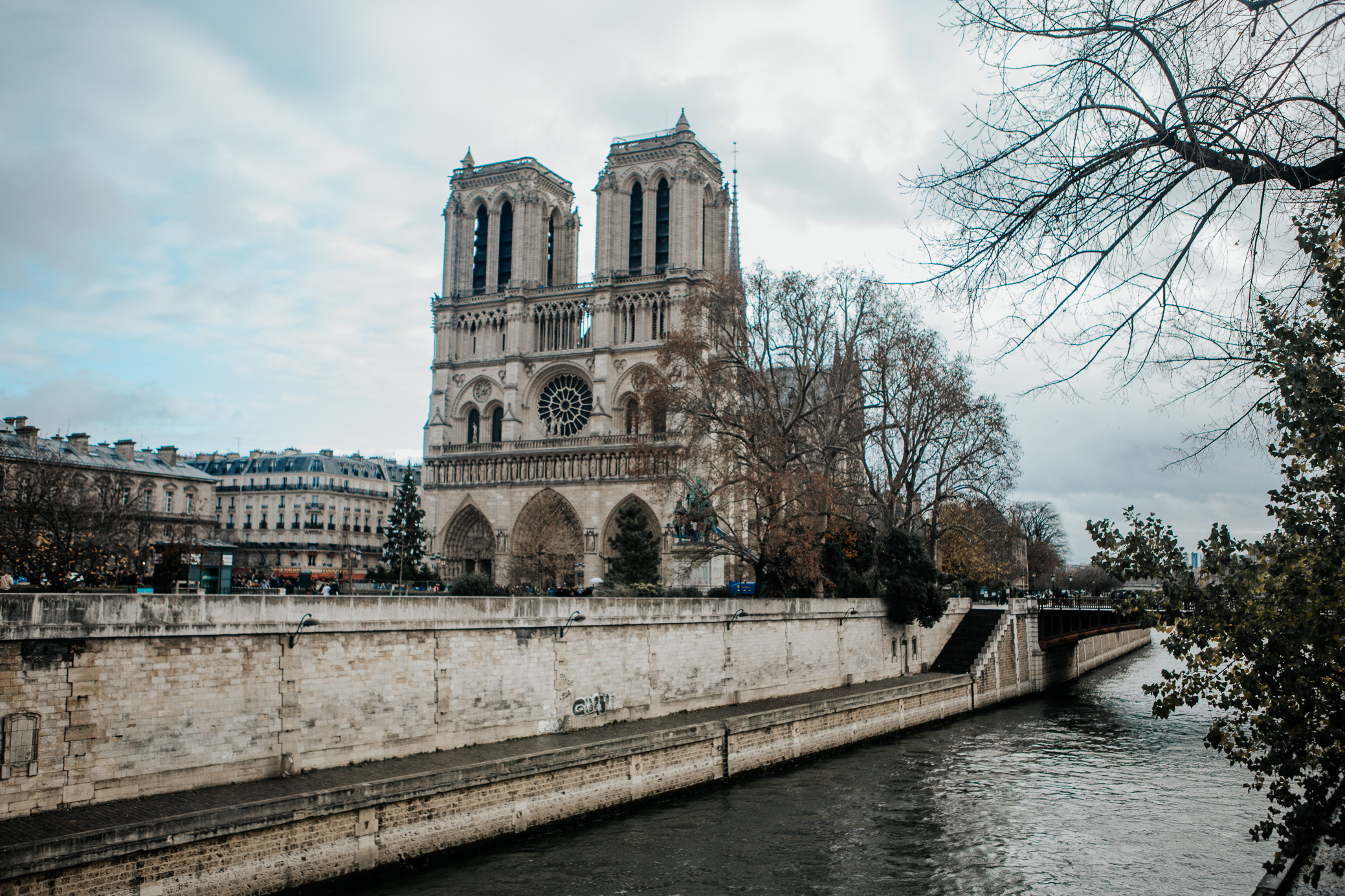 Notre Dame Cathedral | Paris, France | December 7th, 2018 | (Photo by David A. Smith / DSmithScenes)