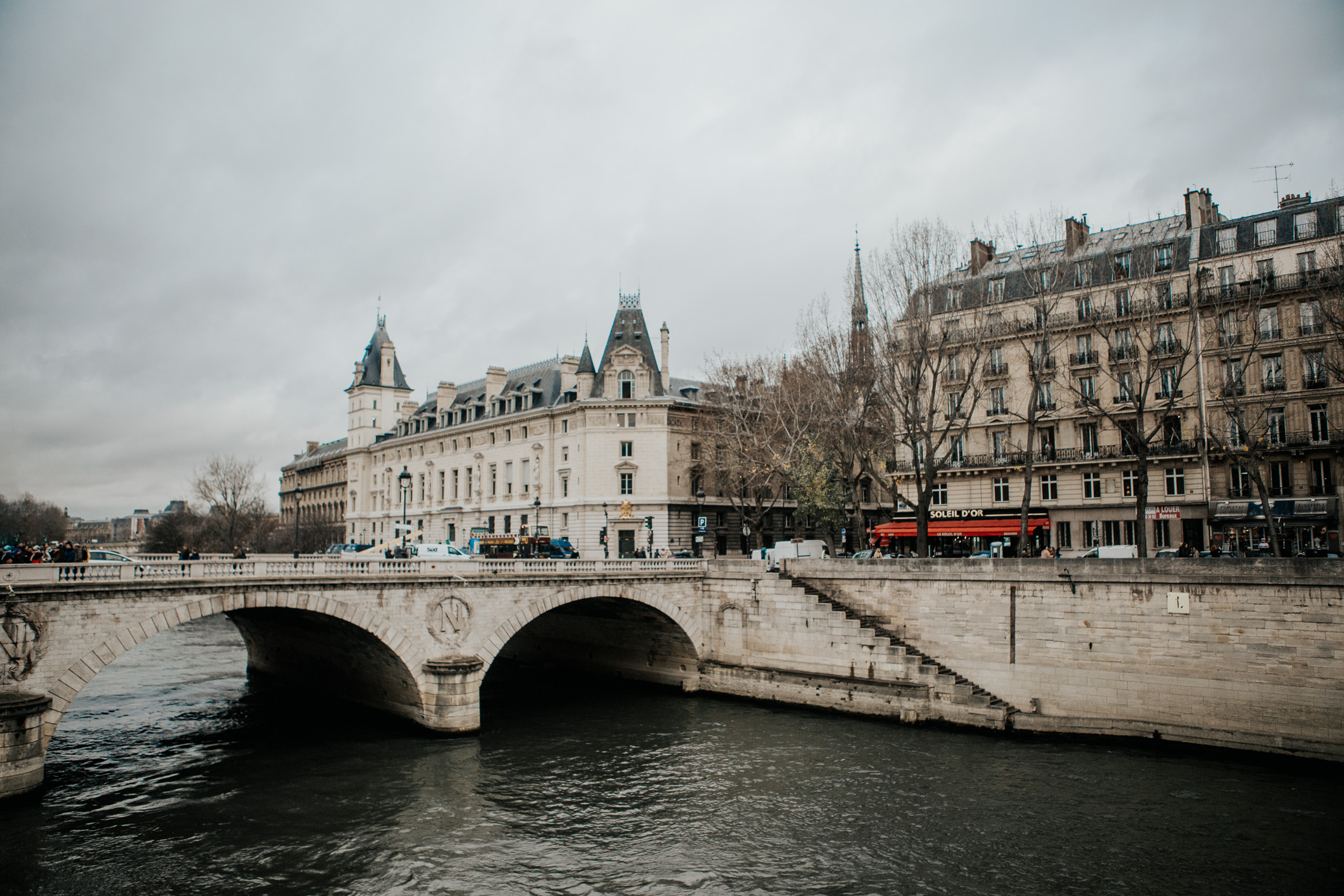The Seine | Paris, France | December 7th, 2018 (Photo by David A. Smith / DSmithScenes)