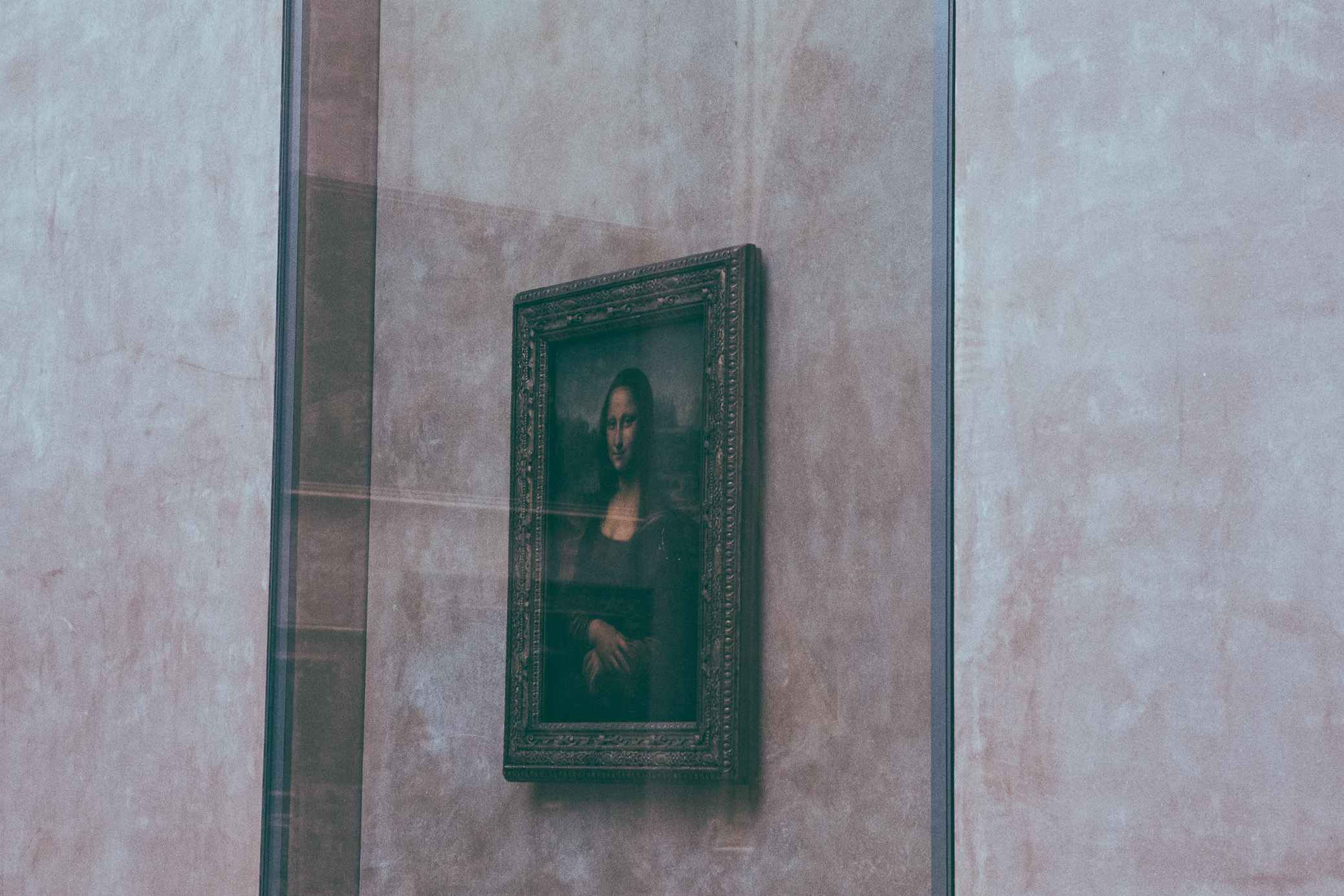 The Mona Lisa | The Louvre | Paris, France | December 9th, 2018 | (Photo by David A. Smith / DSmithScenes)