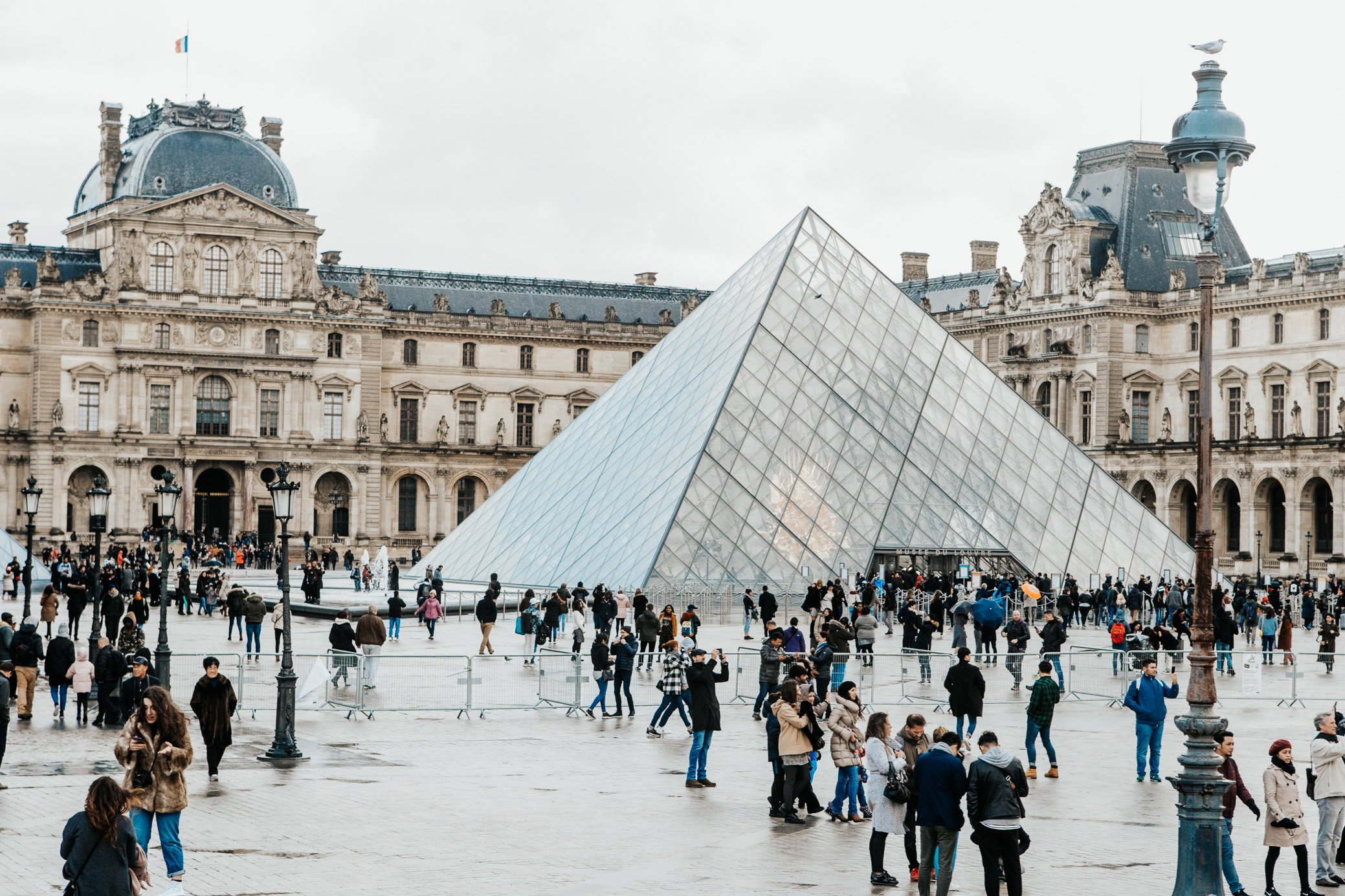The Louvre | Paris, France | December 9th, 2018 | (Photo by David A. Smith / DSmithScenes)