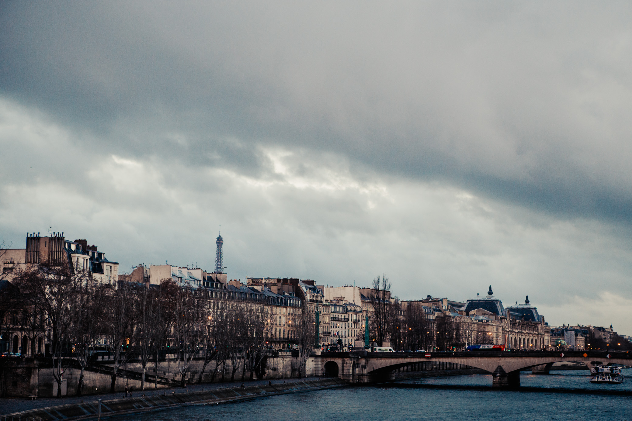 The Seine | Paris, France | December 9th, 2018 | (Photo by David A. Smith / DSmithScenes)