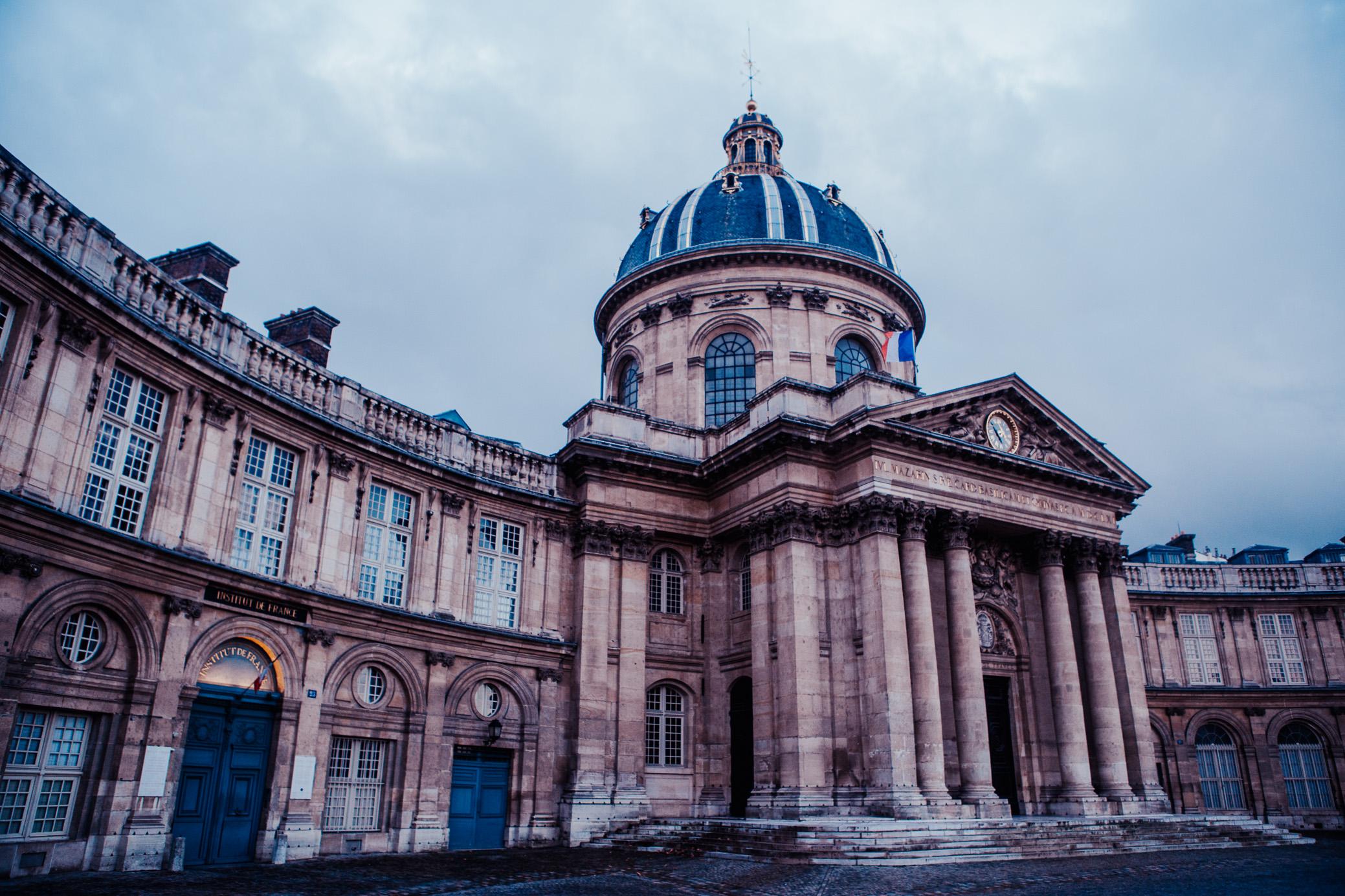 Institut de France | Paris, France | December 10th, 2018 | (Photo by David A. Smith / DSmithScenes)