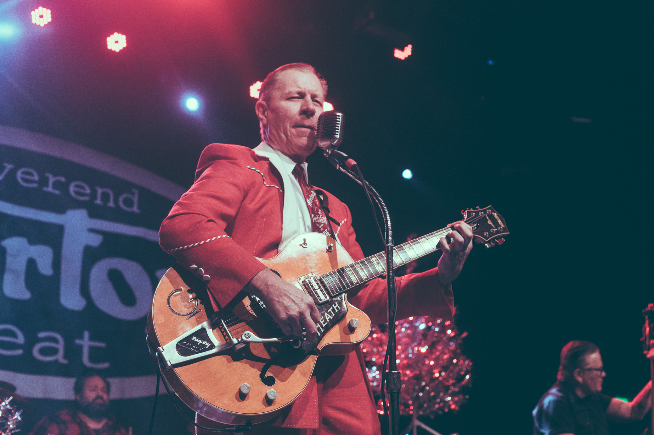 The Reverend Horton Heat performs in concert at Iron City in Birmingham, Alabama on December 22nd, 2018. (Photo by David A. Smith / DSmithScenes)