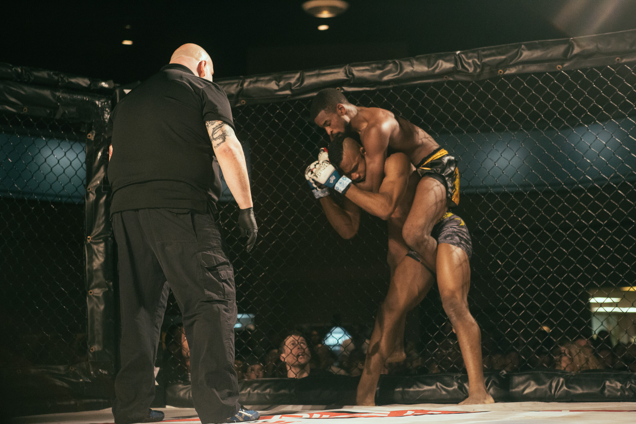 Strikehard 51 mixed martial arts took place at the Zamora Shrine Center in the Irondale area of Birmingham, Alabama on January 12th, 2019. (Photo by David A. Smith / DSmithScenes)
