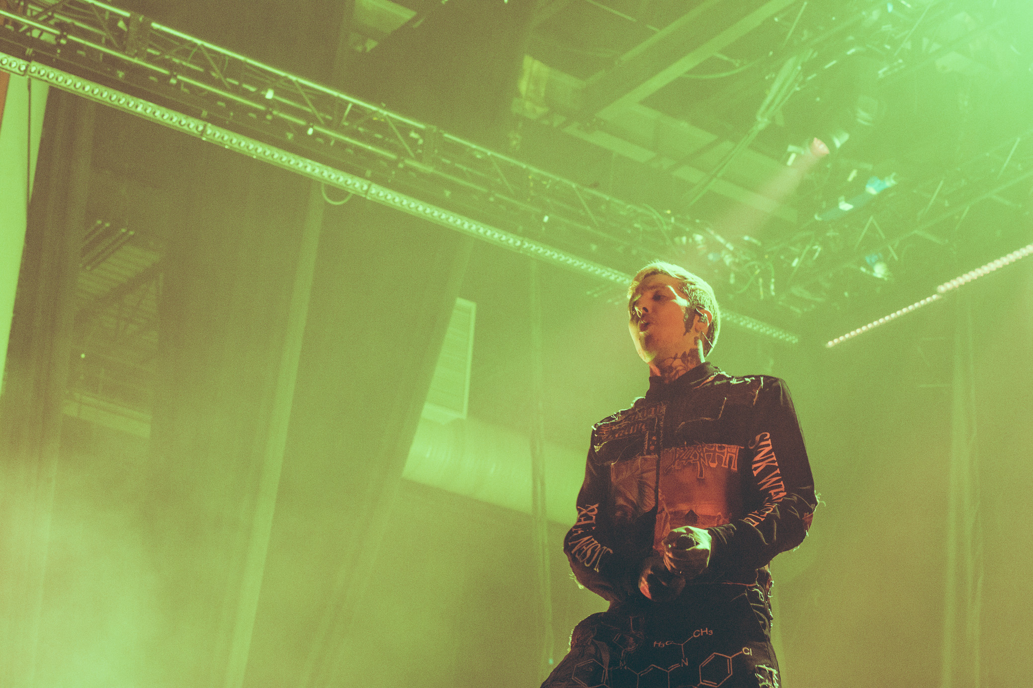 Bring Me The Horizon performs at The Coca-Cola Roxy in Atlanta, Georgia on January 26th, 2019. (Photo by David A. Smith / DSmithScenes)