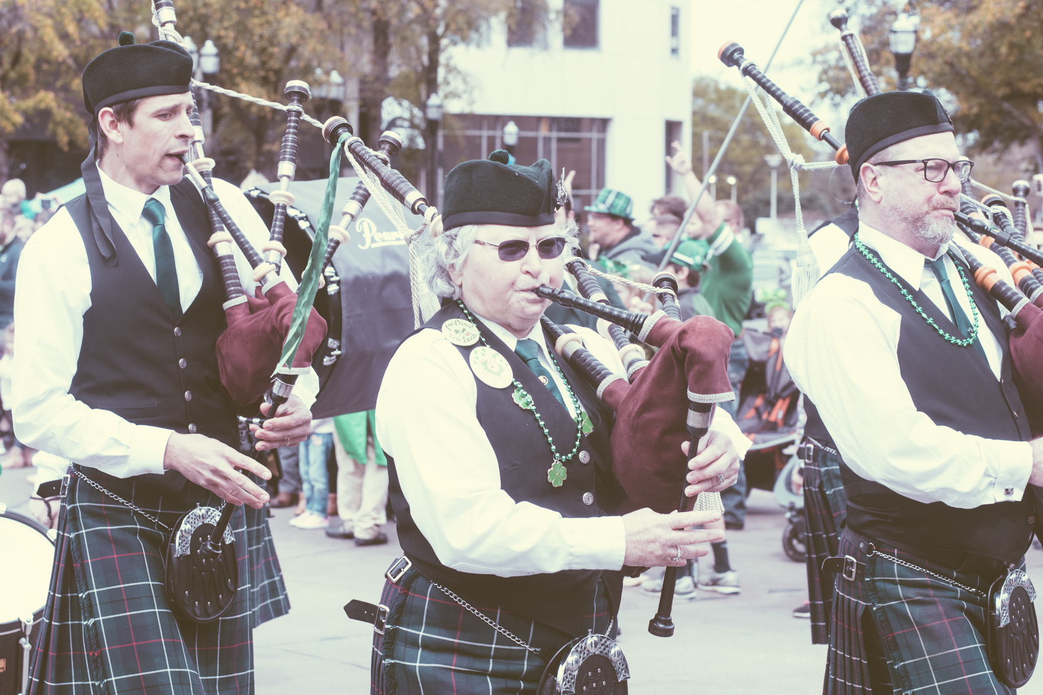 A photograph from the 5 Points South St. Patrick's Day Parade, which took place in Birmingham, Alabama on March 16th, 2019. (Photo by David A. Smith / DSmithScenes)