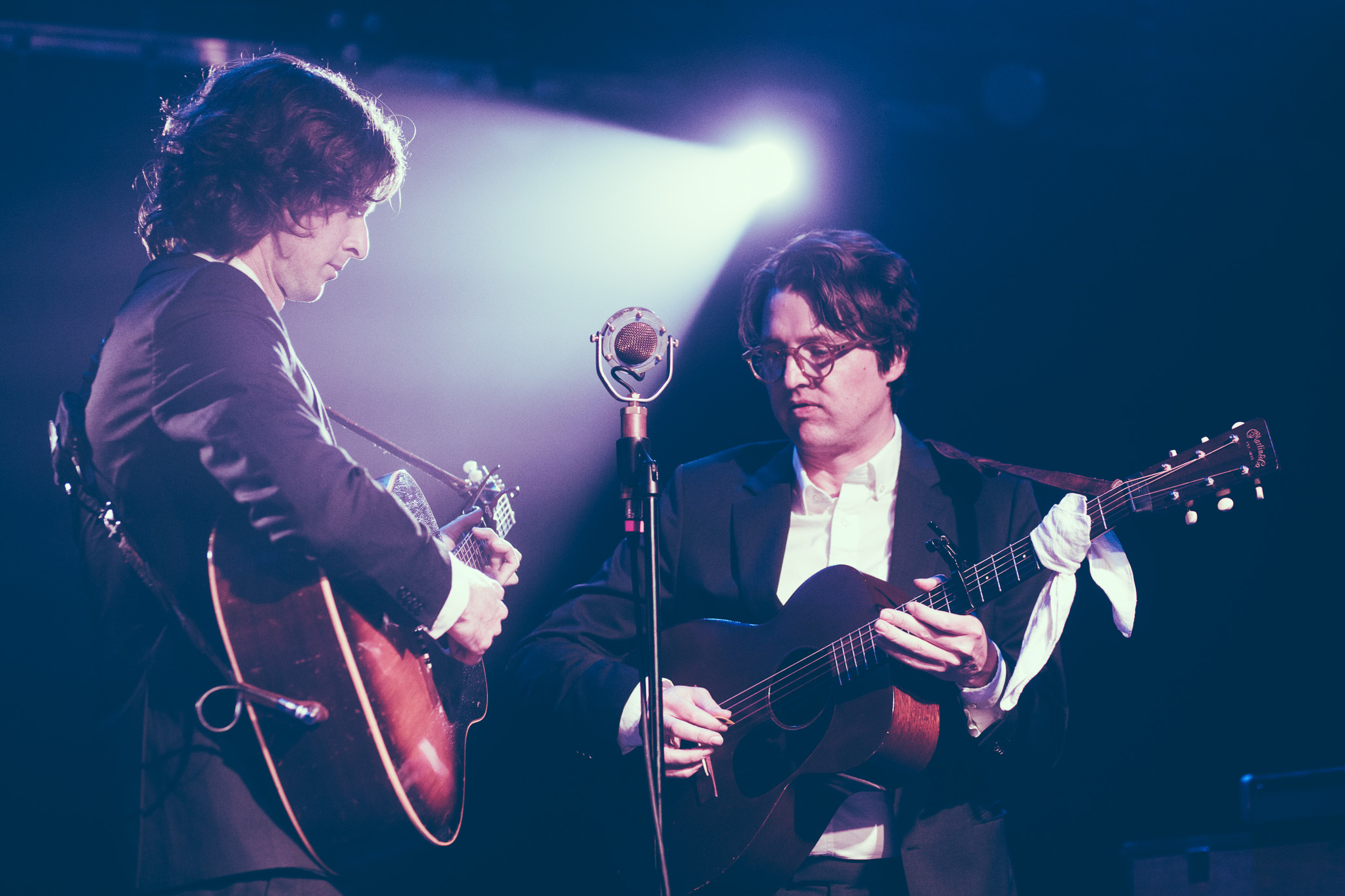 The Milk Carton Kids perform in concert at Saturn Birmingham in Birmingham, Alabama on April 24th, 2019. (Photo by David A. Smith / DSmithScenes)