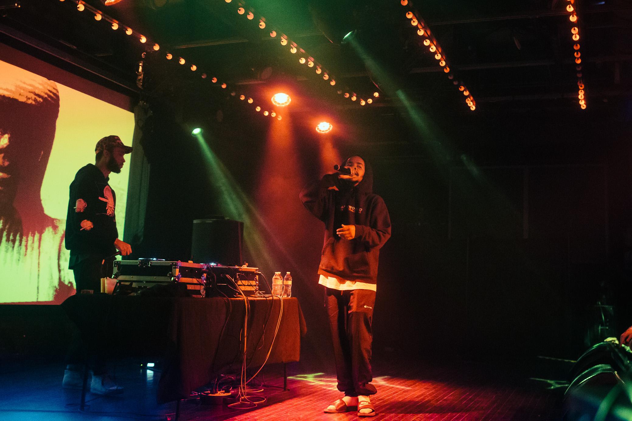 Earl Sweatshirt performs in concert at Saturn Birmingham in Birmingham, Alabama on May 5th, 2019. (Photo by David A. Smith / DSmithScenes)