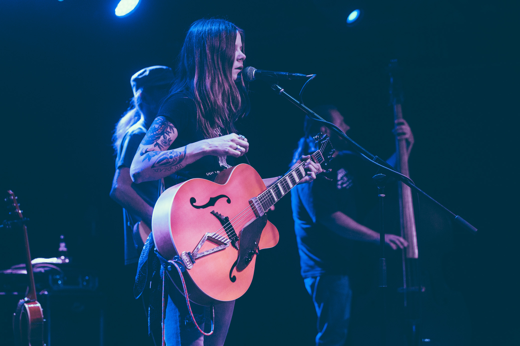 Sarah Shook & the Disarmers perform in concert at Saturn Birmingham in Birmingham, Alabama on June 2nd, 2019. (Photo by David A. Smith / DSmithScenes)
