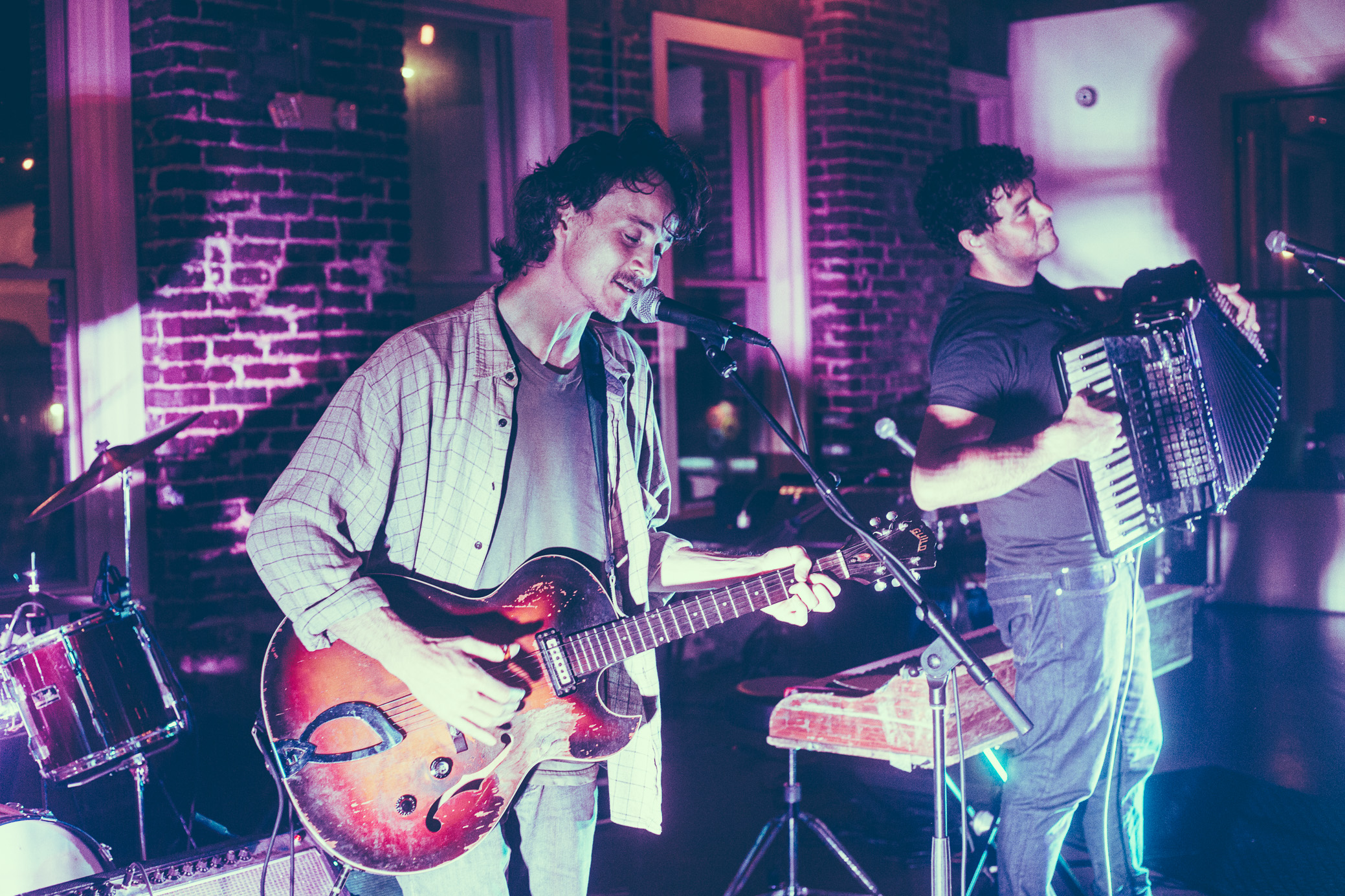 The Felice Brothers perform in concert at The Upstairs at Avondale in Birmingham, Alabama on June 9th, 2019. (Photo by David A. Smith / DSmithScenes)