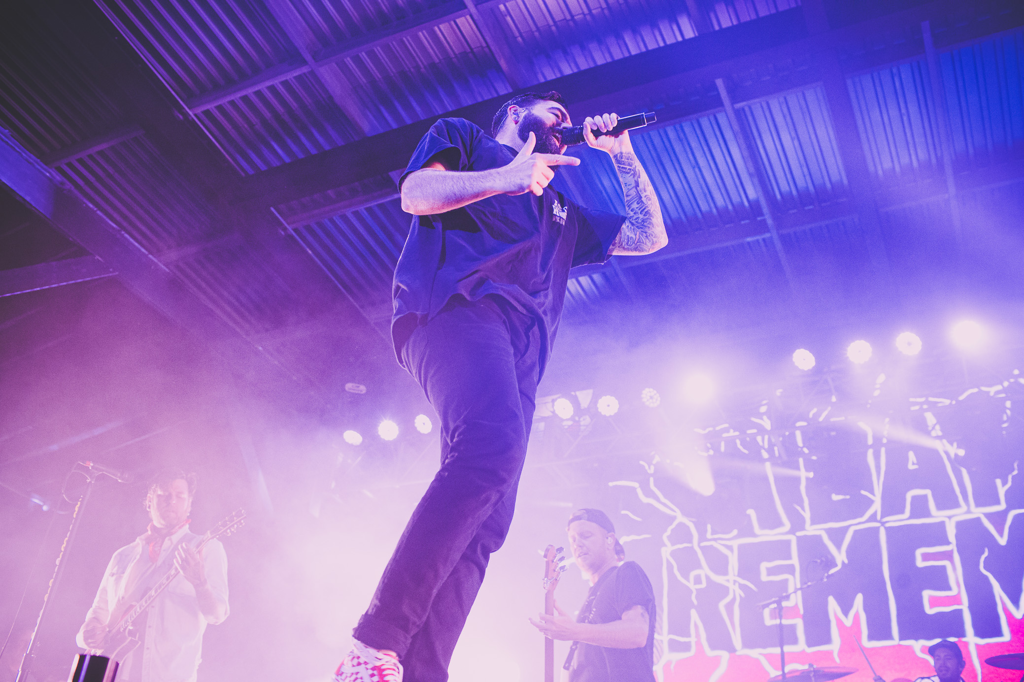 A Day to Remember performs in concert at Avondale Brewing in Birmingham, Alabama on June 15th, 2019. (Photo by David A. Smith / DSmithScenes)