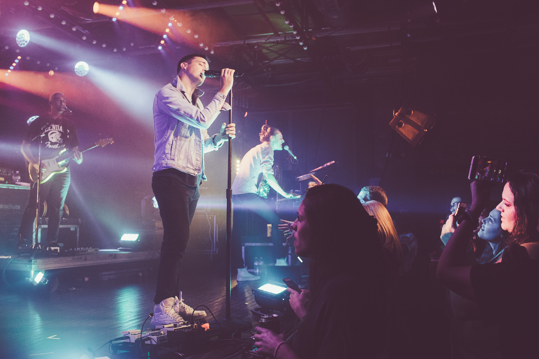 Parachute performs in concert at Saturn Birmingham in Birmingham, Alabama on June 24th, 2019. (Photo by David A. Smith / DSmithScenes)