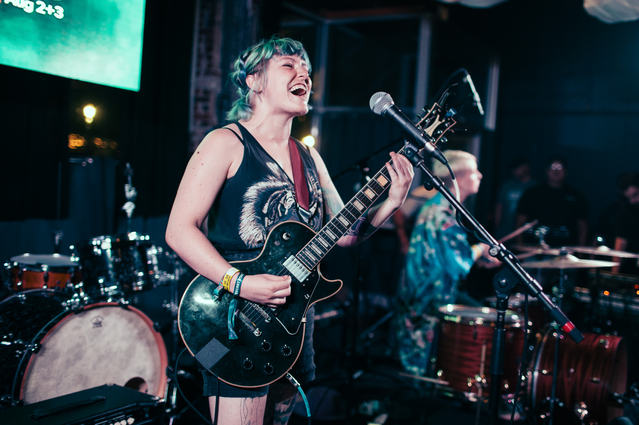 GRLwood performs in concert at the 2019 Secret Stages Music Discovery Festival in Birmingham, Alabama on August 3rd, 2019. (Photo by David A. Smith / DSmithScenes)