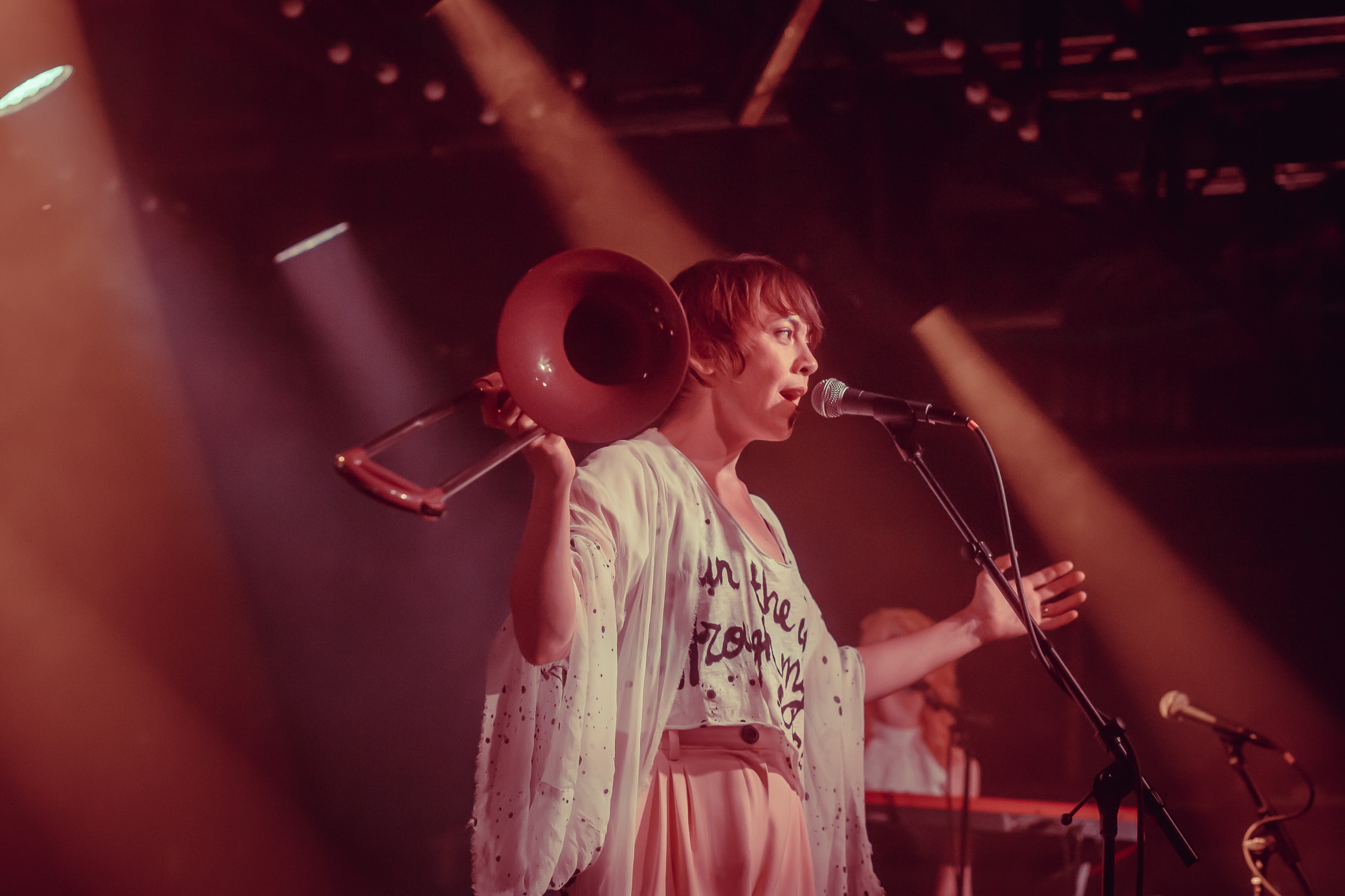 The Bird and The Bee perform in concert at Saturn Birmingham in Birmingham, Alabama on August 22nd, 2019. (Photo by David A. Smith / DSmithScenes)