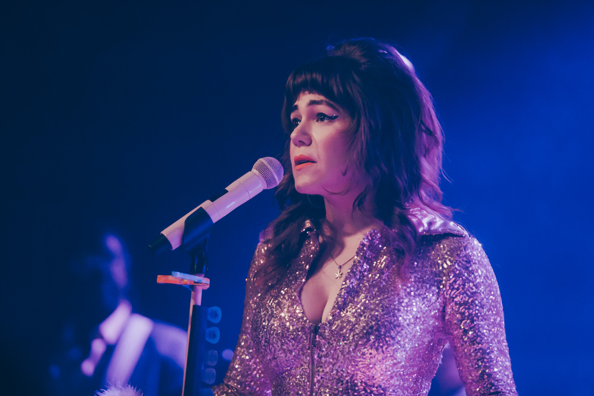 Jenny Lewis performs in concert at Saturn Birmingham in Birmingham, Alabama on September 14th, 2019. (Photo by David A. Smith / DSmithScenes)