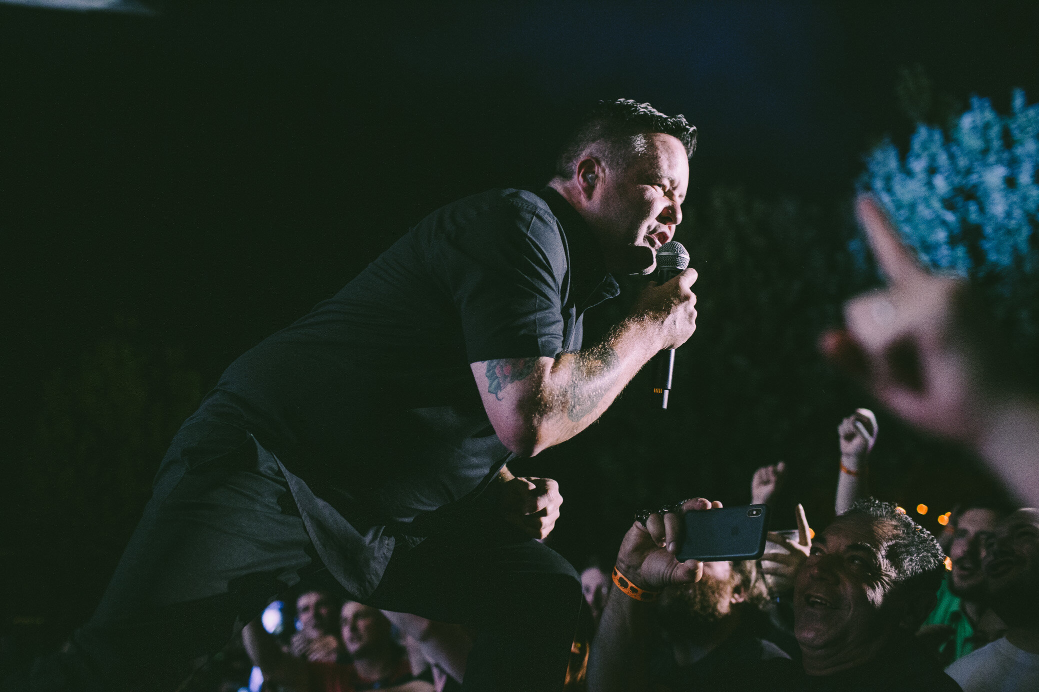 Dropkick Murphys perform in concert at Avondale Brewing in Birmingham, Alabama on September 26th, 2019 (Photo by David A. Smith/DSmithScenes)