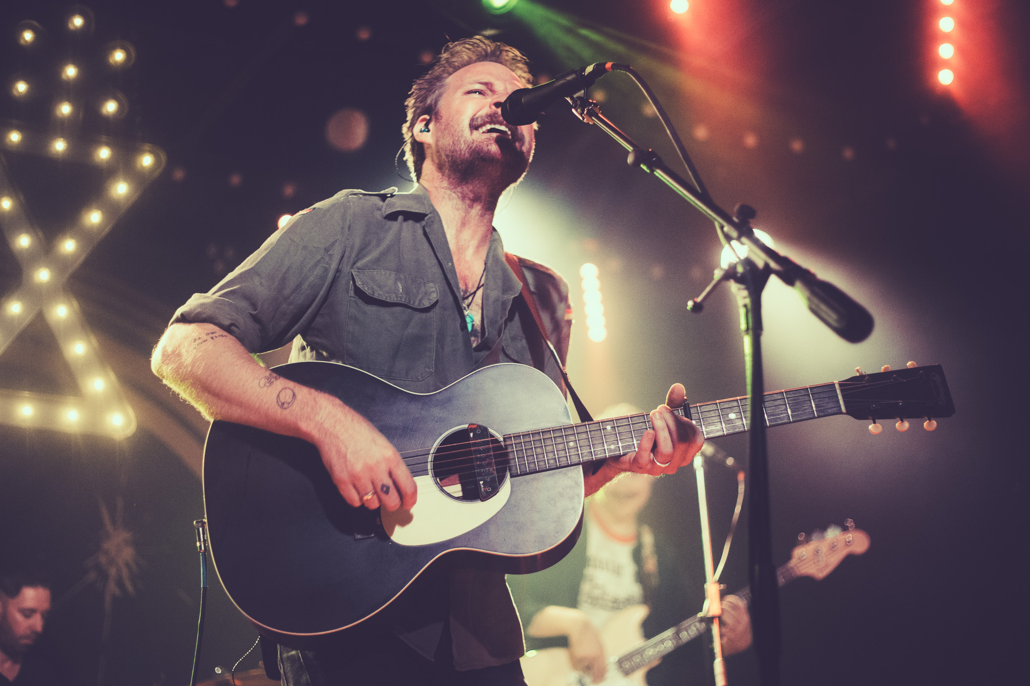 Hiss Golden Messenger performs in concert at Saturn Birmingham in Birmingham, Alabama on September 27th, 2019. (Photo by David A. Smith / DSmithScenes)