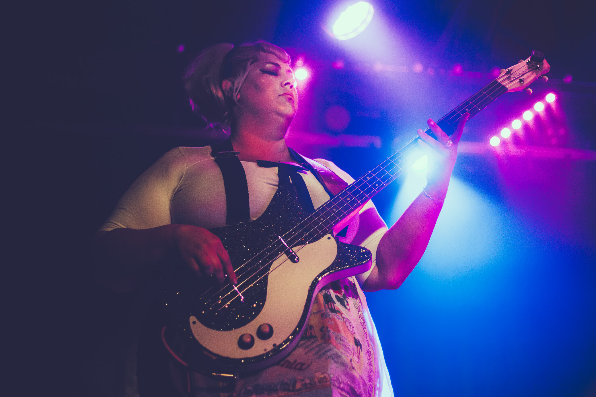 Shannon & the Clams perform at Saturn Birmingham in Birmingham, Alabama on October 12th, 2019. (Photo by David A. Smith / DSmithScenes)