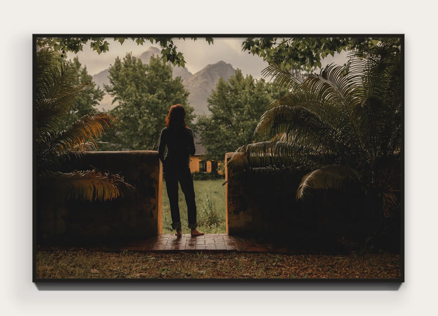 """Untitled 01 (from Banhoek)"" 40 x 26.7cm Archival pigment print on 100% cotton rag. Edition of 5 + 1 AP $500.00"