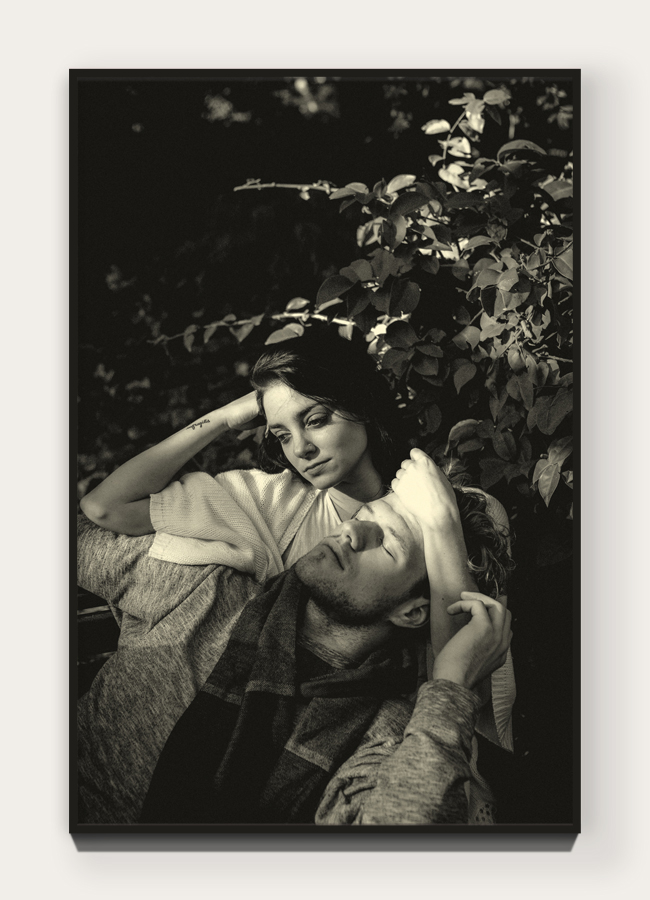 """""""  Mon Amour  """" from """"  Les Amants  """" 29.6 x 19.8 cm (11.65 x 7.8 in) Archival pigment print on 100% cotton rag. Edition of 5 + 1 AP  Purchase →"""