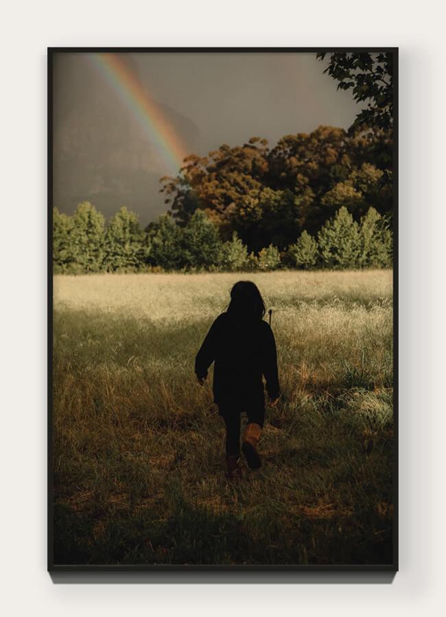 """  Feynman's Rainbow  "" from ""  Banhoek  "" 46.8 x 31.2 cm Archival pigment print on 100% cotton rag. Edition of 5 + 1 AP  Purchase →"