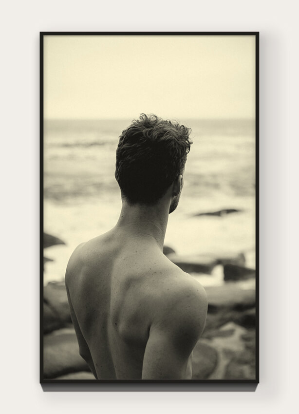 """Frontiers of Self""   from  "" Kontak 540""    45 × 27.78 cm unframed (17.72 x 10.94 in) Edition of 5 + 1 AP Archival pigment print on 100% natural cotton rag. View the  Kontak 540 Collection  〉"