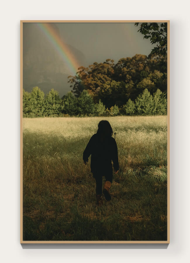 """  Feynman's Rainbow  "" from ""  Banhoek  "" 46.8 x 31.2 cm Archival pigment print on 100% cotton rag. Edition of 5 + 1 AP  View Collection 〉"