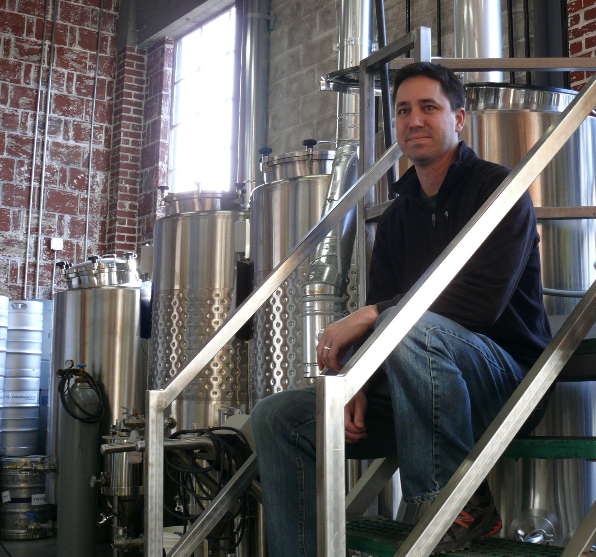 Mike Wright, owner of The Commons Brewery in Portland, Oregon.